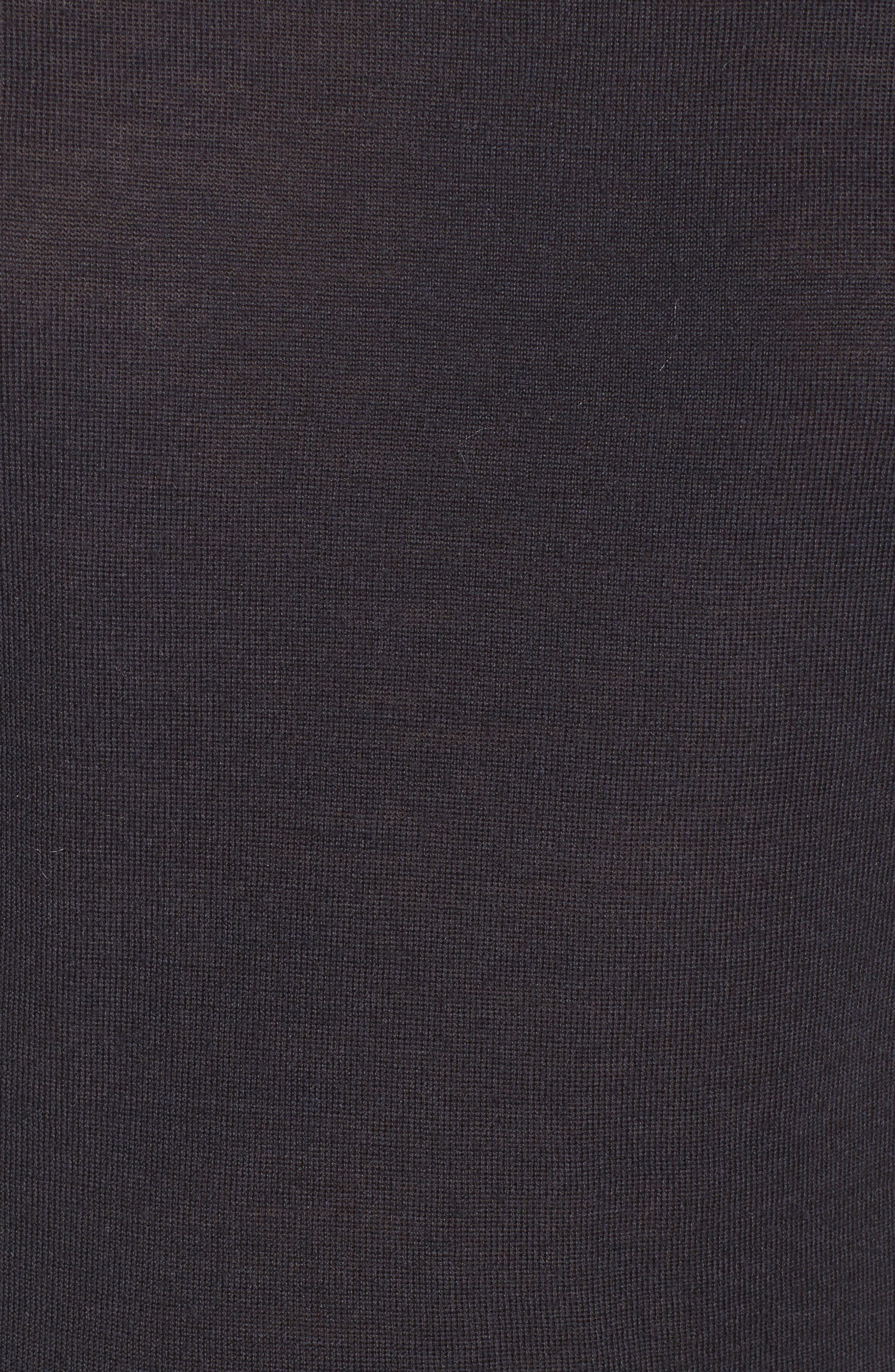 Alternate Image 5  - BOSS Fifet Sparkle Trim Sweater