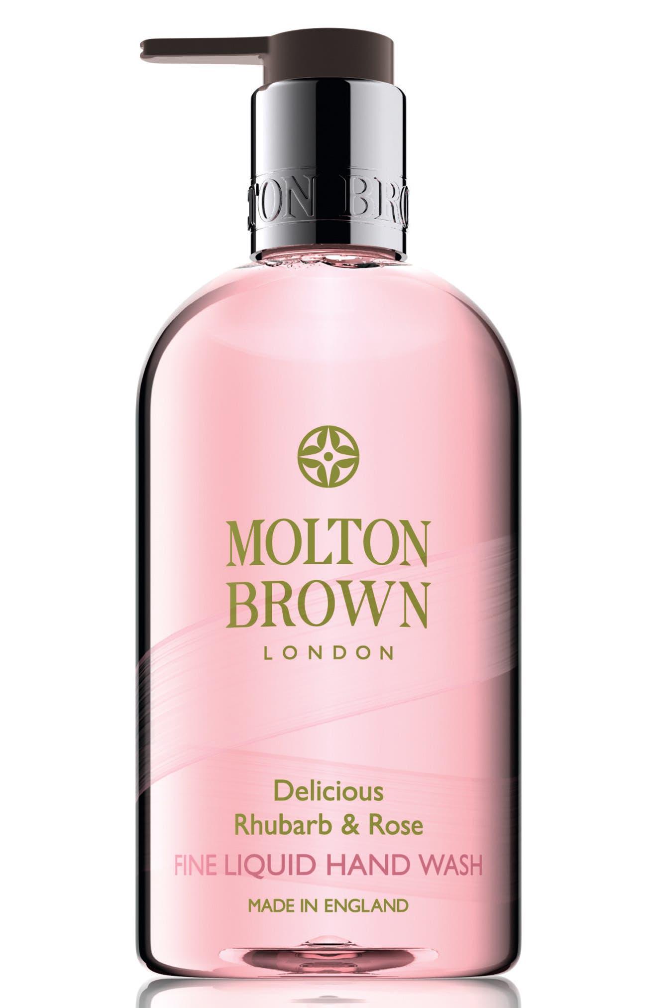 Main Image - MOLTON BROWN London Delicious Rhubarb & Rose Hand Wash