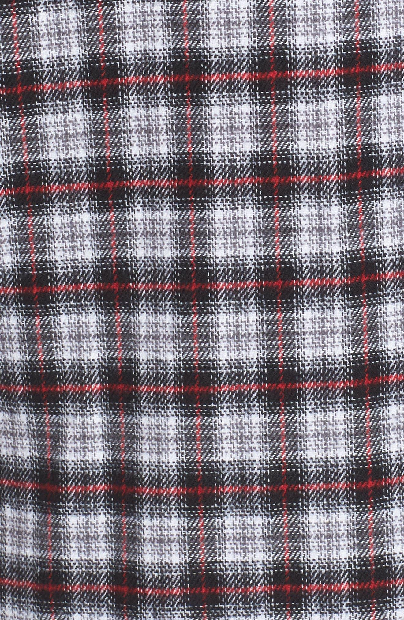 Alternate Image 5  - AFRM Victoria Oversize Flannel Shirt
