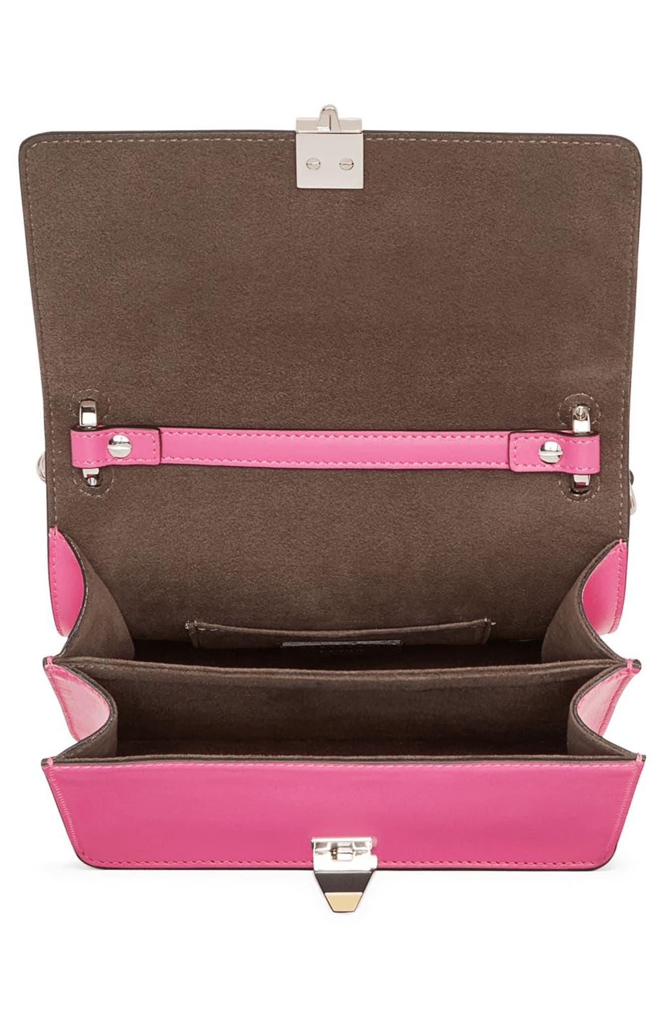 Alternate Image 3  - Fendi Small Kan I Leather Shoulder Bag