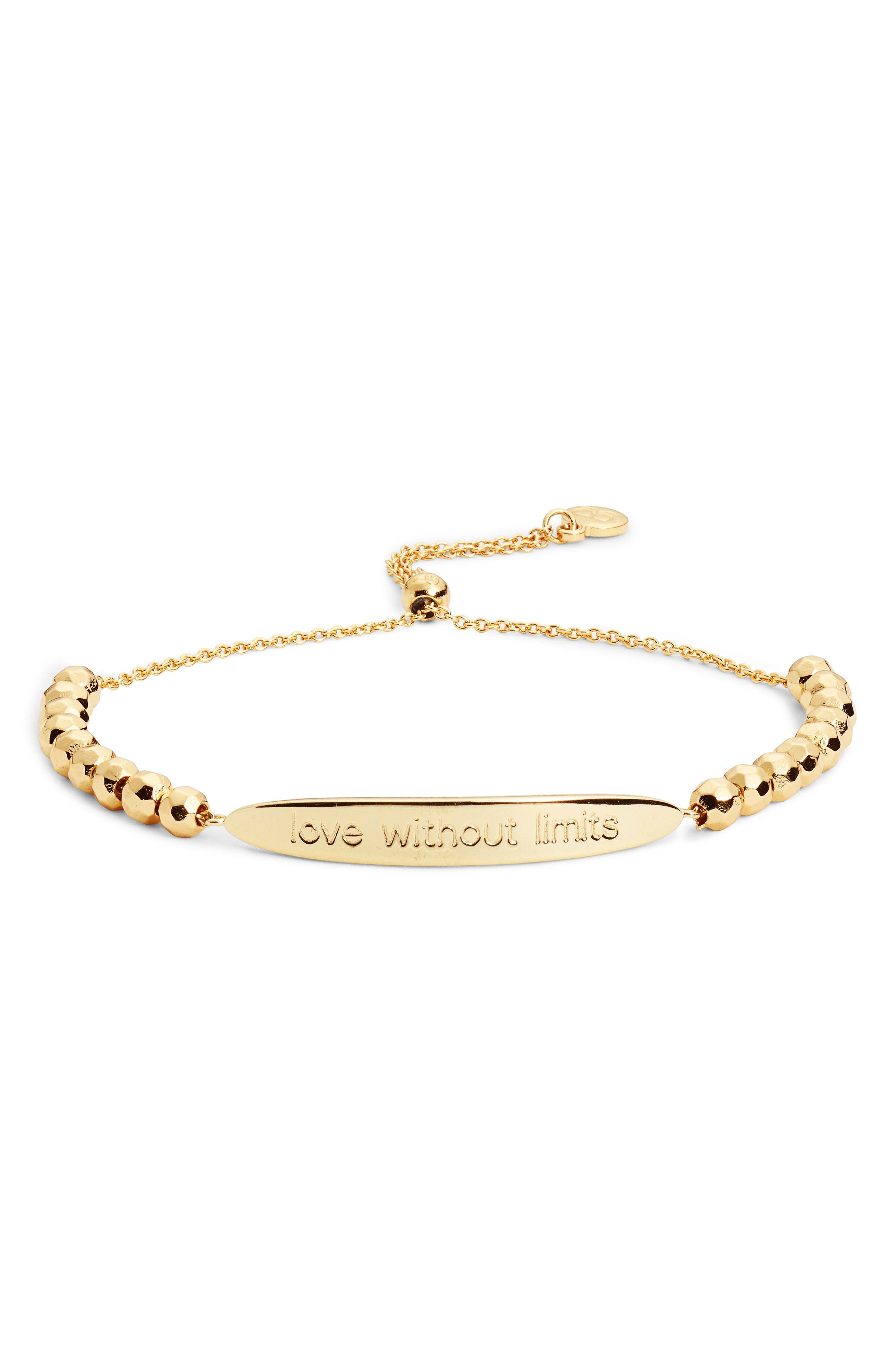 gorjana Power Intention Love without Limits Bracelet
