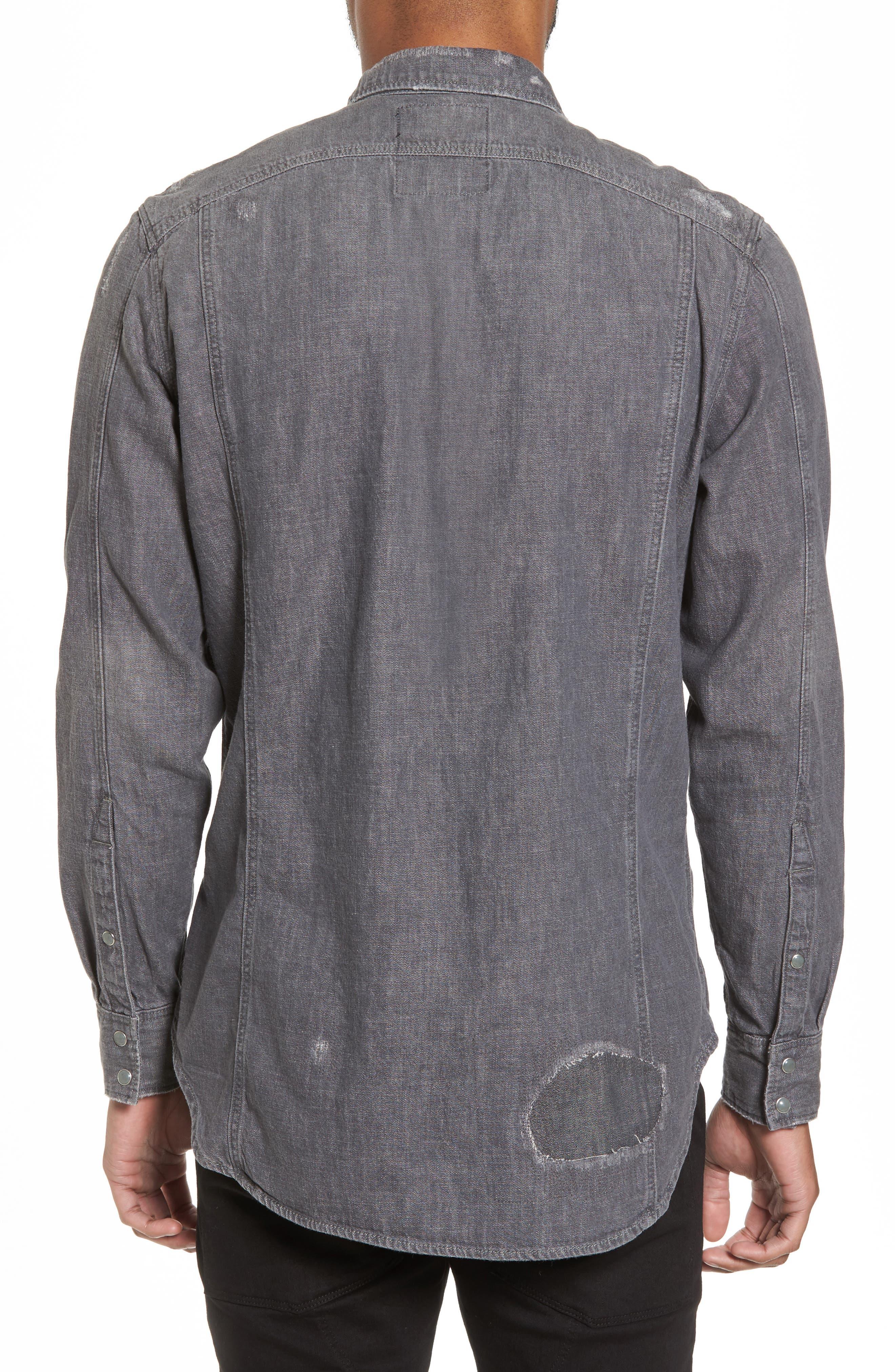 3301 Craser Denim Shirt,                             Alternate thumbnail 2, color,                             Medium Aged Restored