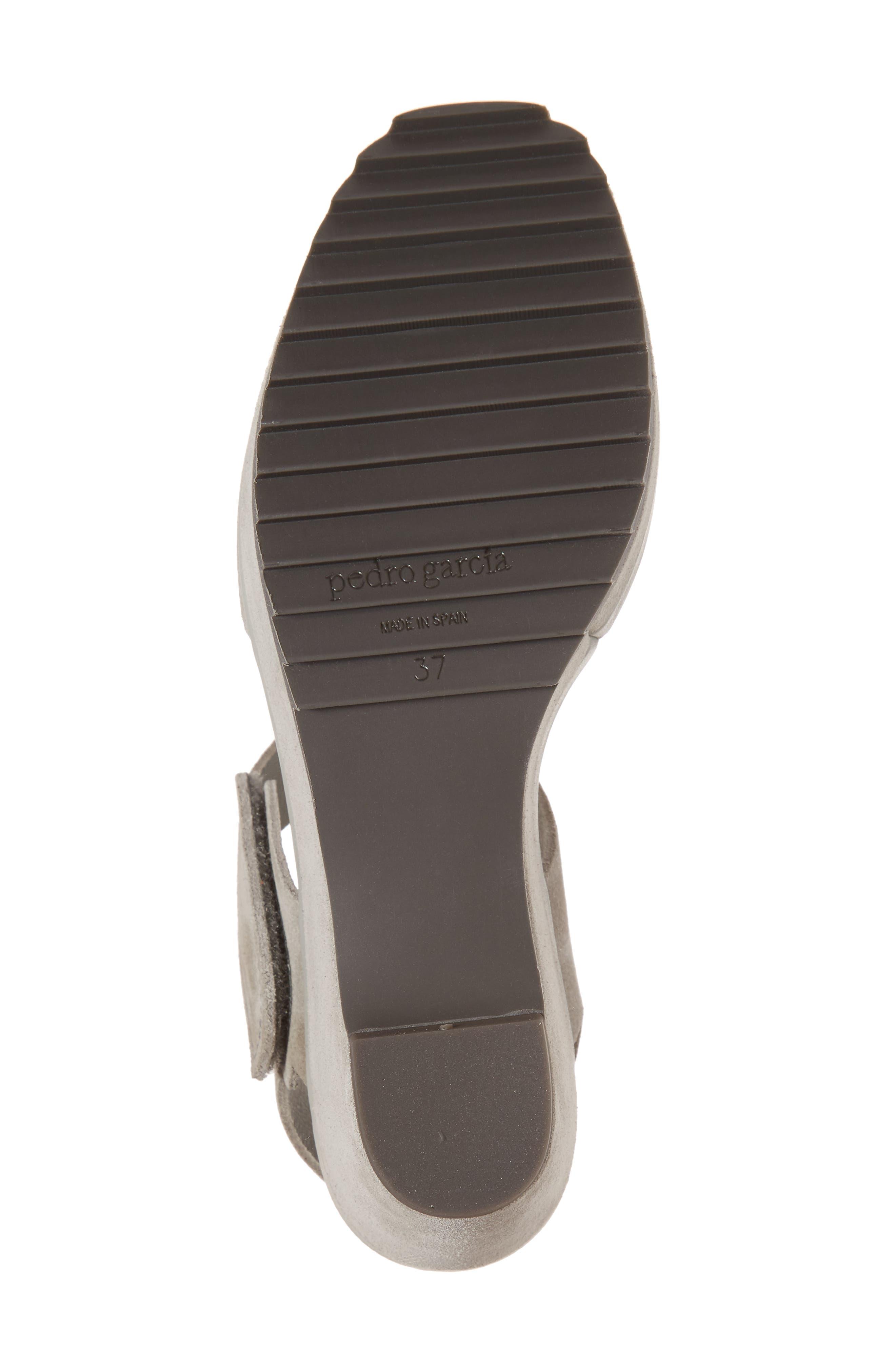Fah Platform Wedge Sandal,                             Alternate thumbnail 6, color,                             Pumice Castoro