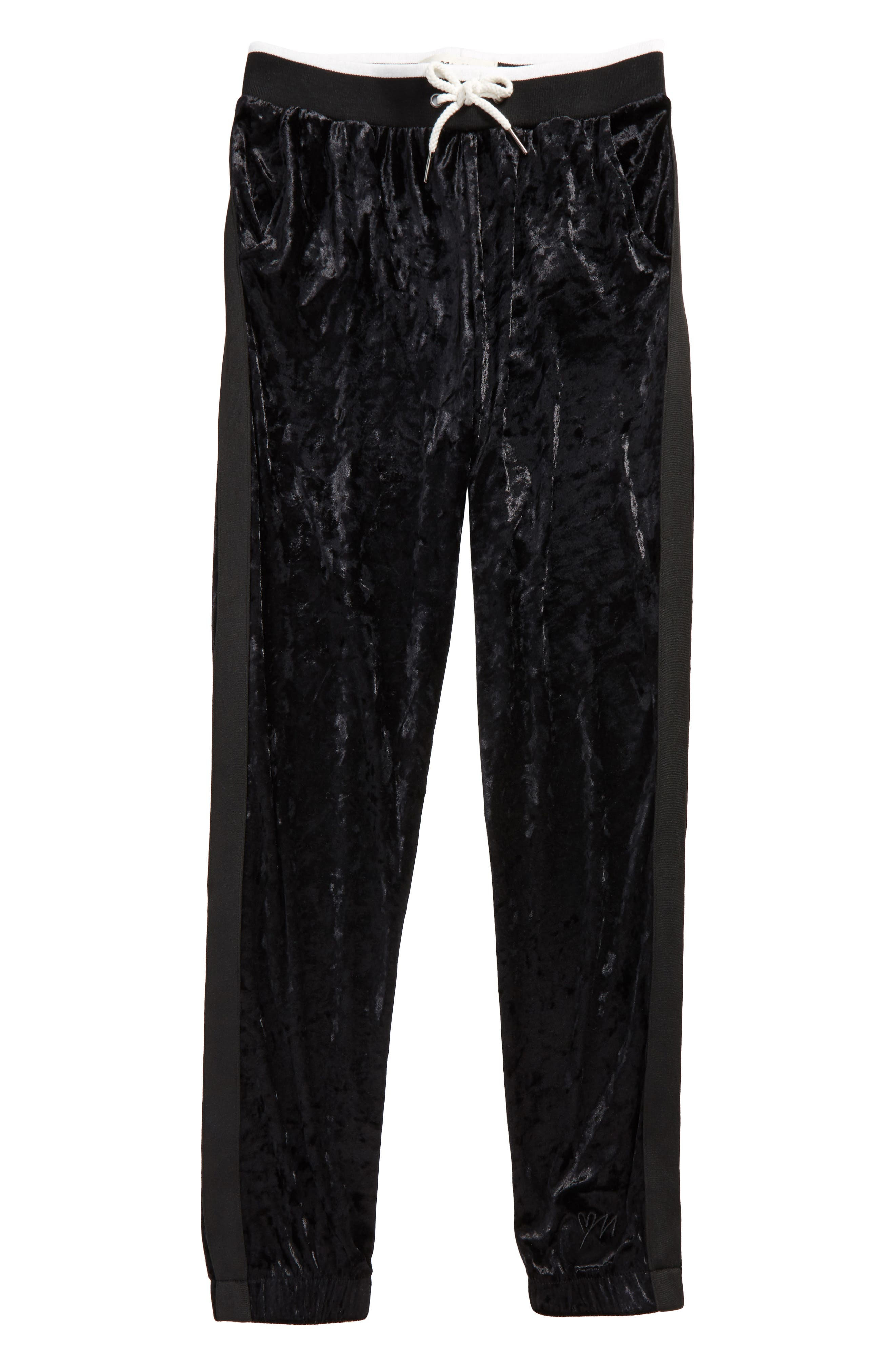 Maddie Velour Track Pants (Big Girls)
