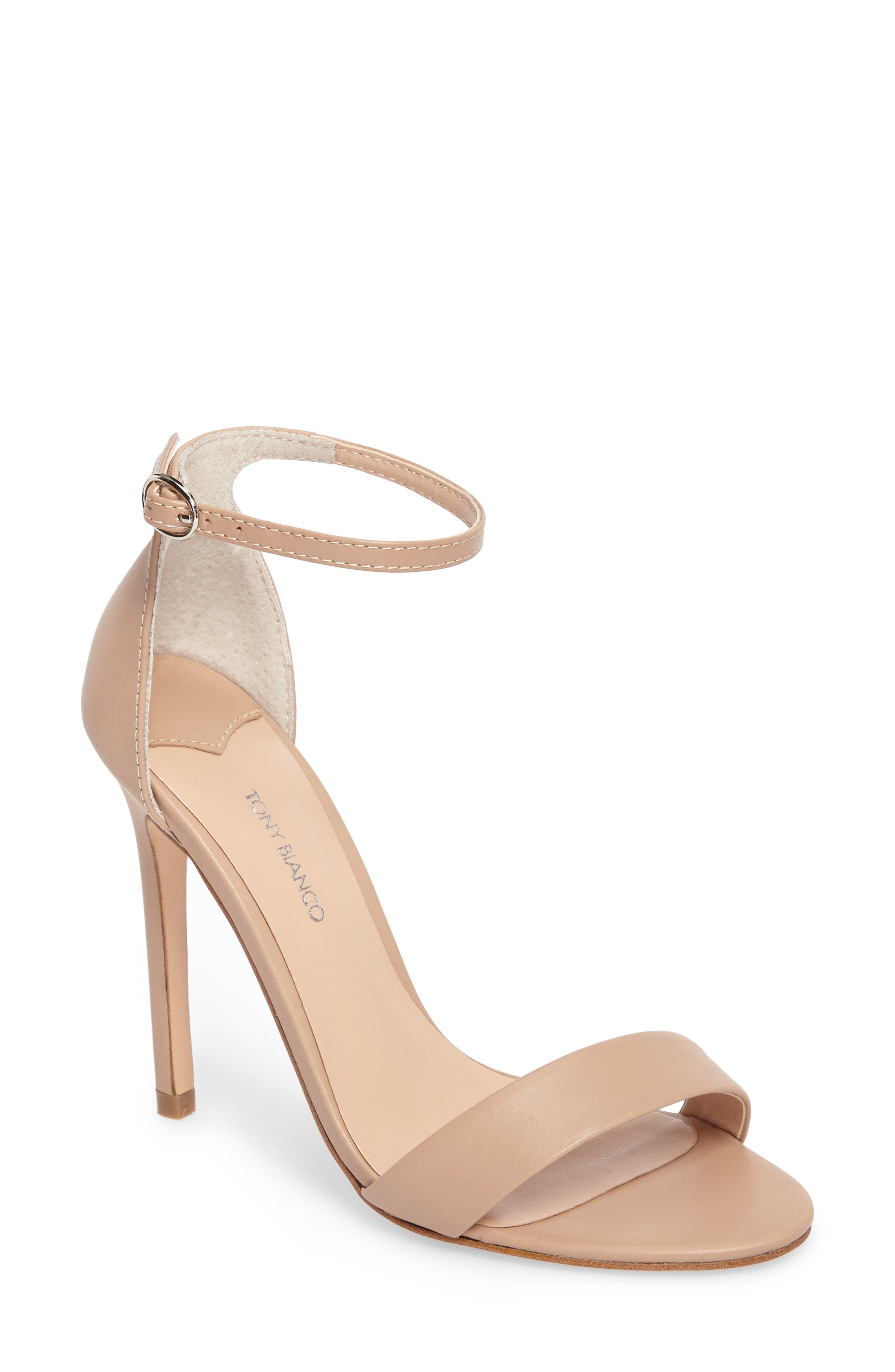 Alternate Image 1 Selected - Tony Bianco Karvan Ankle Strap Sandal (Women)