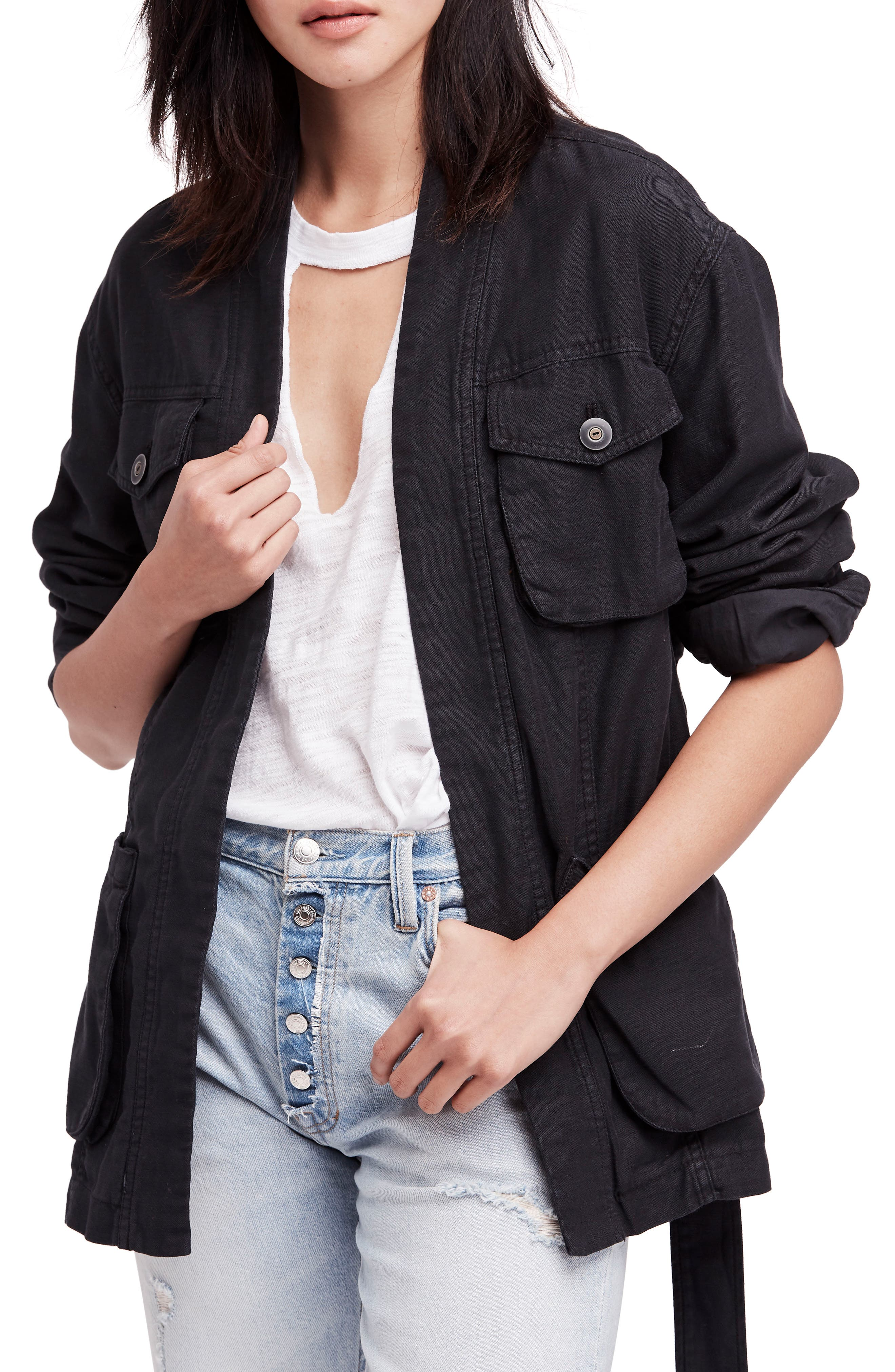Main Image - Free People In our Nature Cargo Jacket