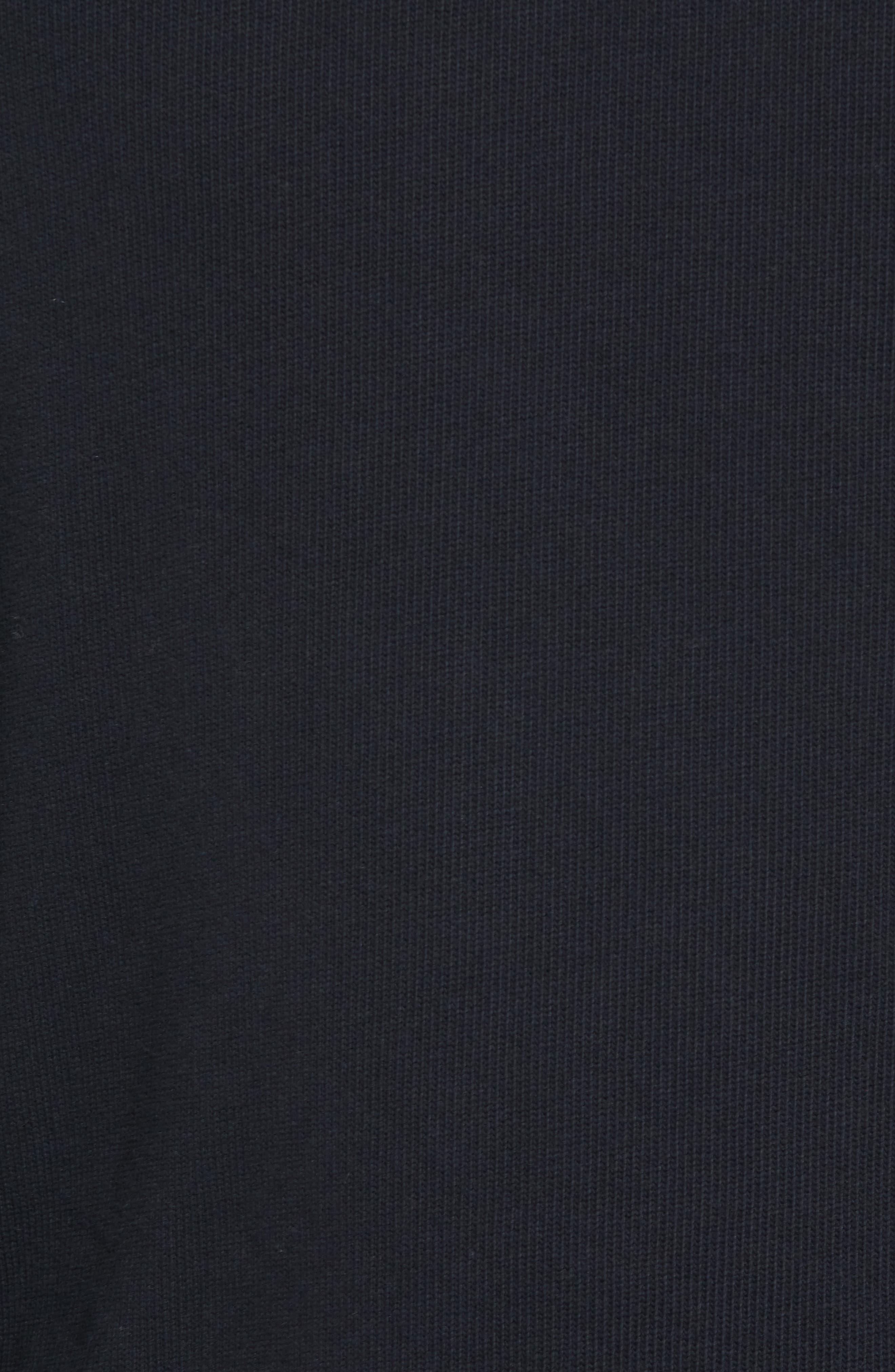 Crewneck Pullover,                             Alternate thumbnail 5, color,                             Black Rock