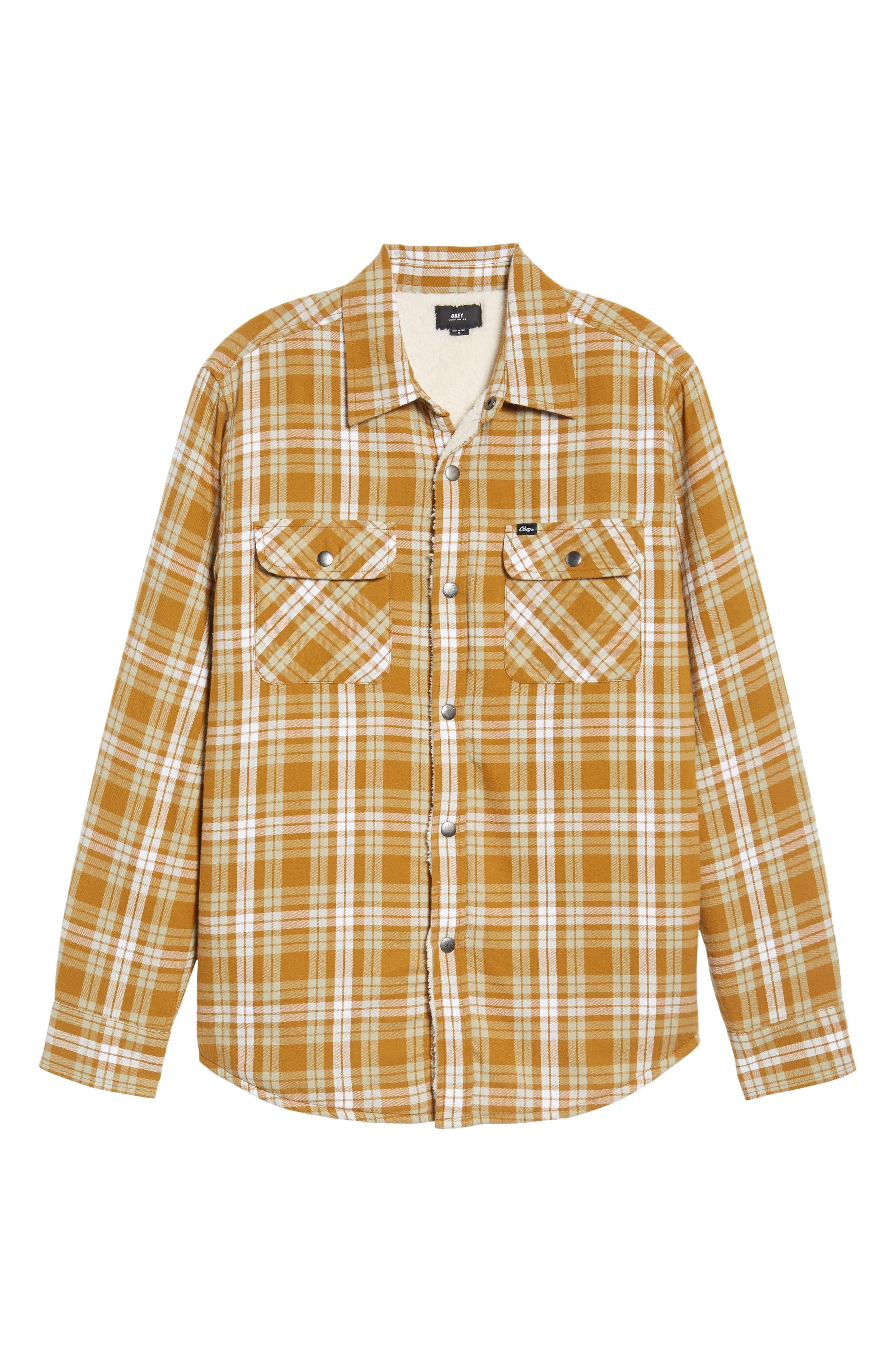 Alternate Image 6  - Obey Seattle Shirt Jacket