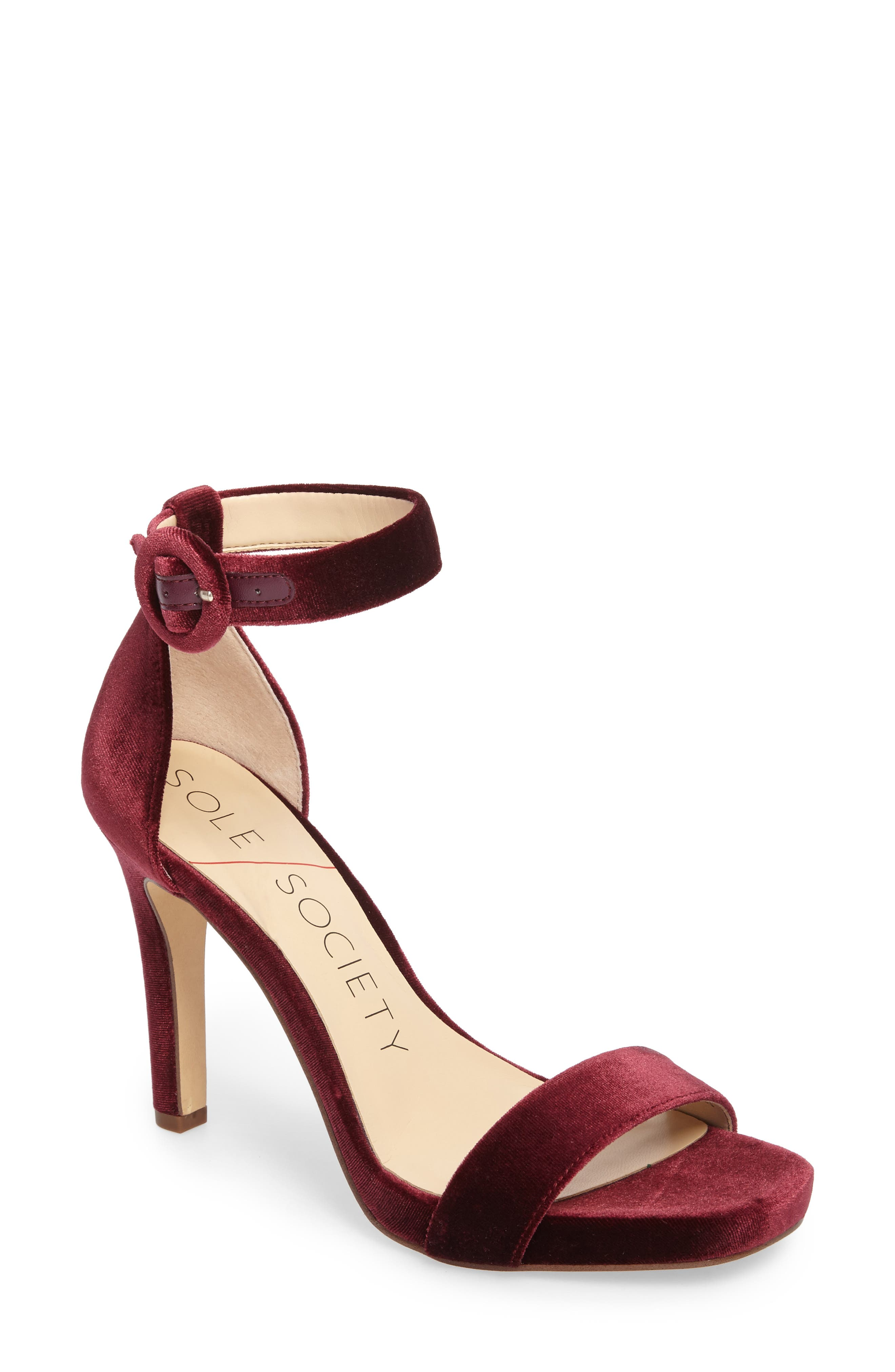 Sole Society Emelia Ankle Strap Sandal (Women)
