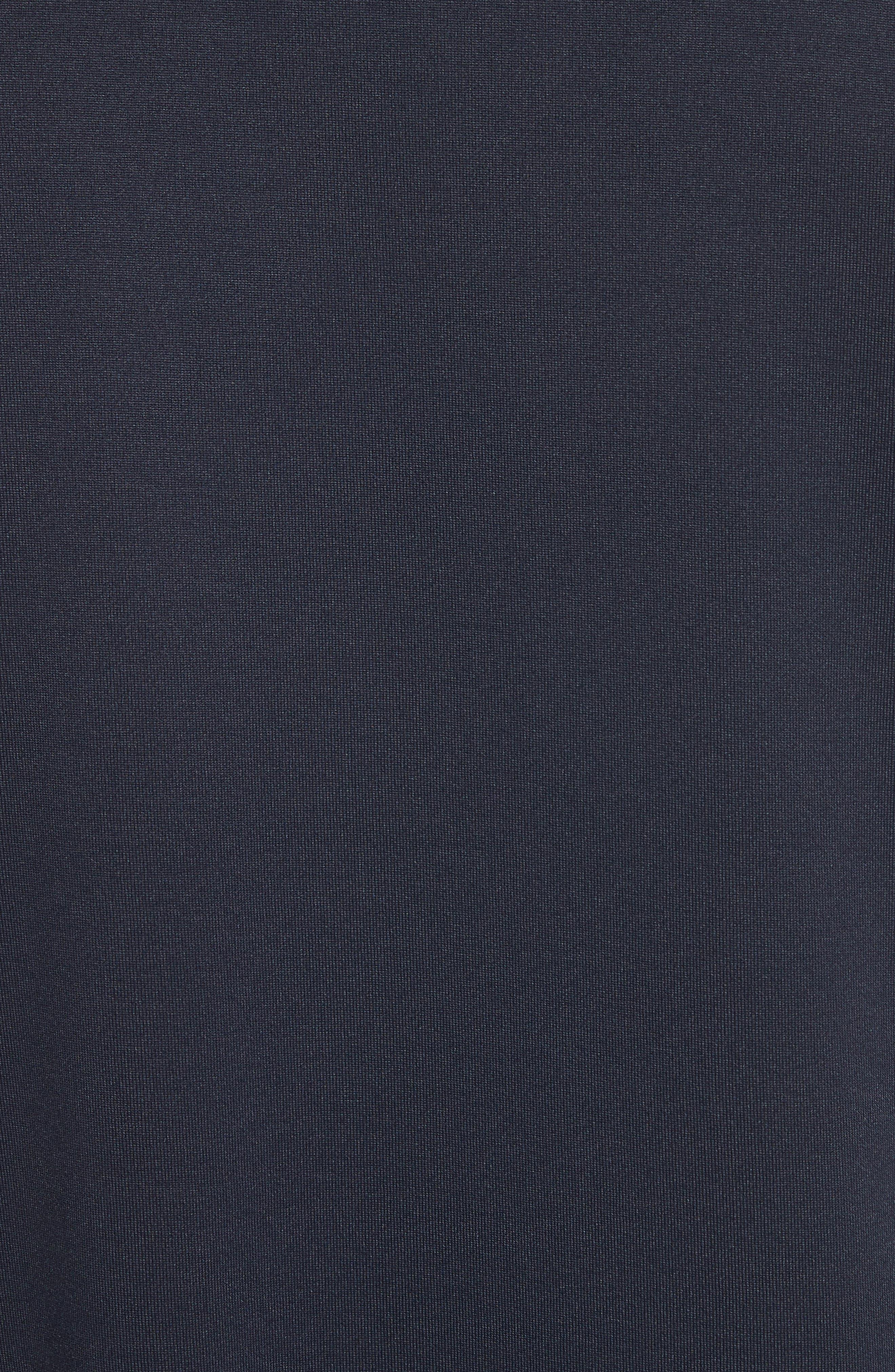 x adidas Tonal Stripe Crewneck T-Shirt,                             Alternate thumbnail 5, color,                             Navy