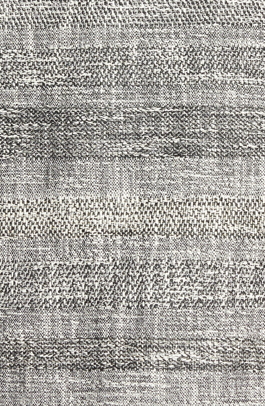 Alternate Image 3  - BOSS 'Dalomi' Tweed Panel Shift Dress
