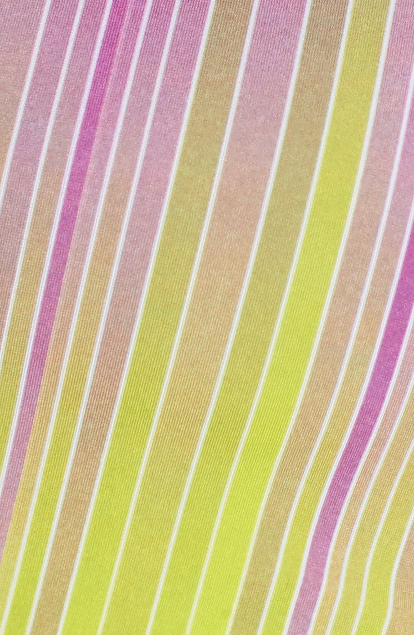 Graphic X Sports Bra,                             Alternate thumbnail 6, color,                             Pinstripes