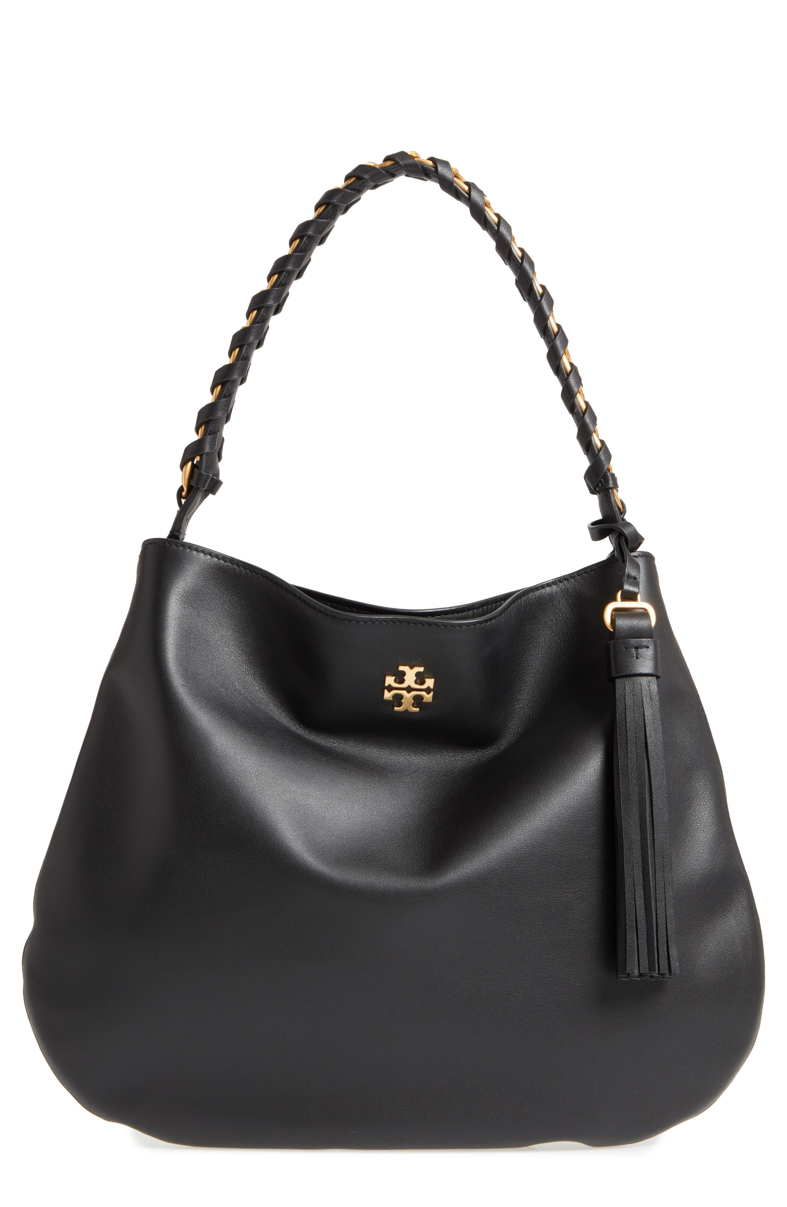 Alternate Image 1 Selected - Tory Burch Brooke Leather Hobo