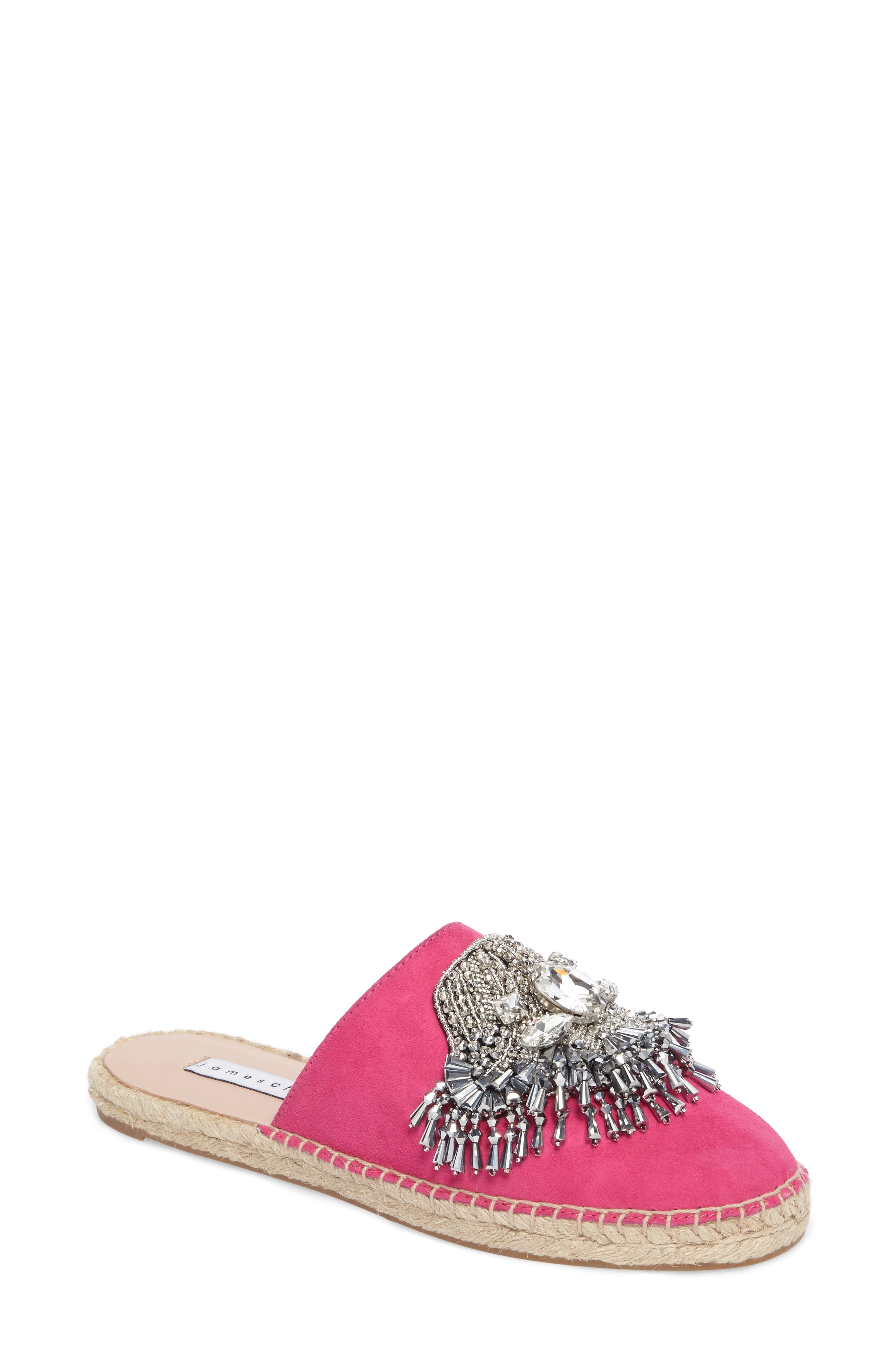 Alternate Image 1 Selected - James Chan Izalea Espadrille Mule (Women)