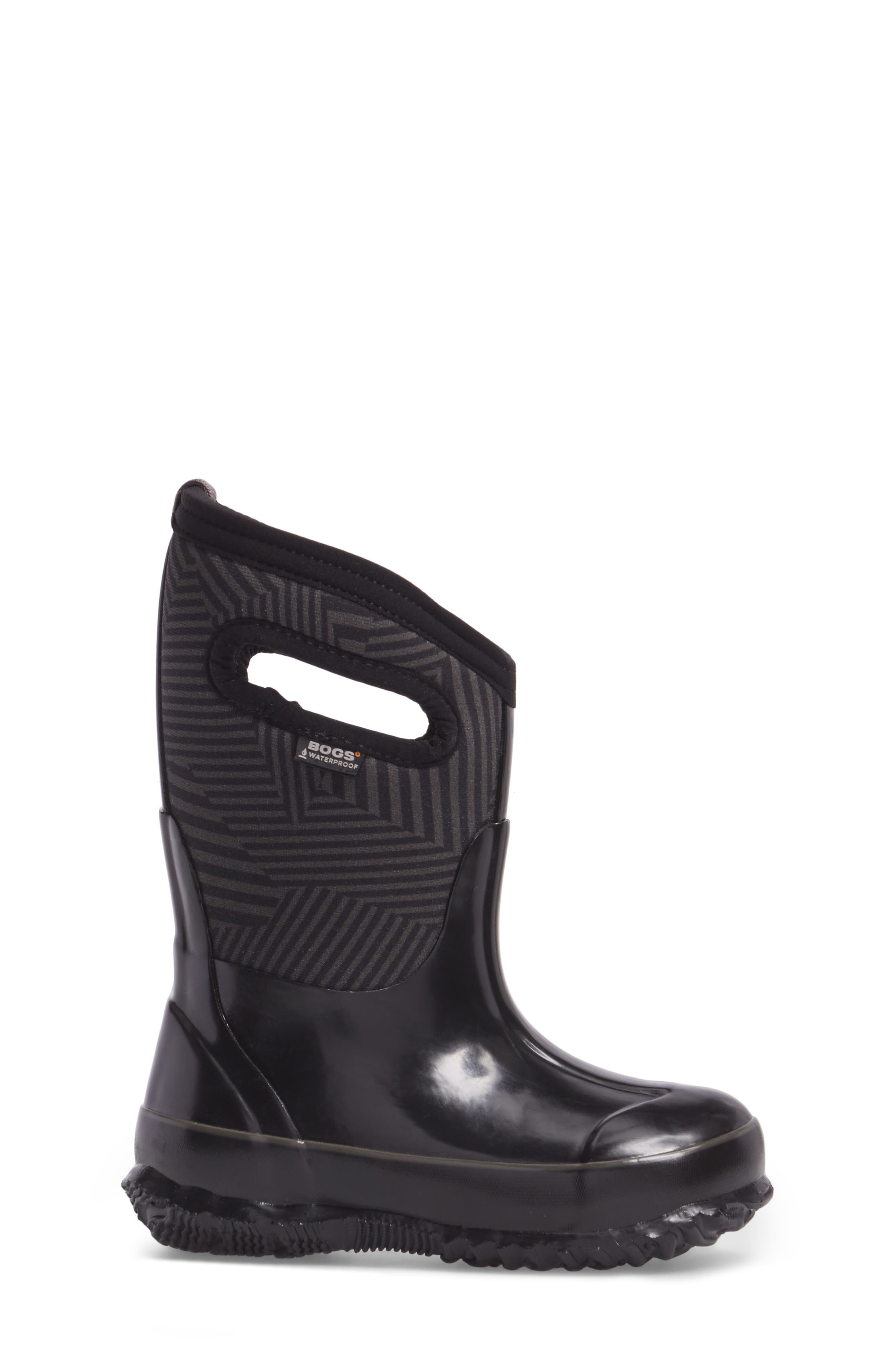 Alternate Image 3  - Bogs Classic Phaser Insulated Waterproof Boot (Toddler, Little Kid & Big Kid)