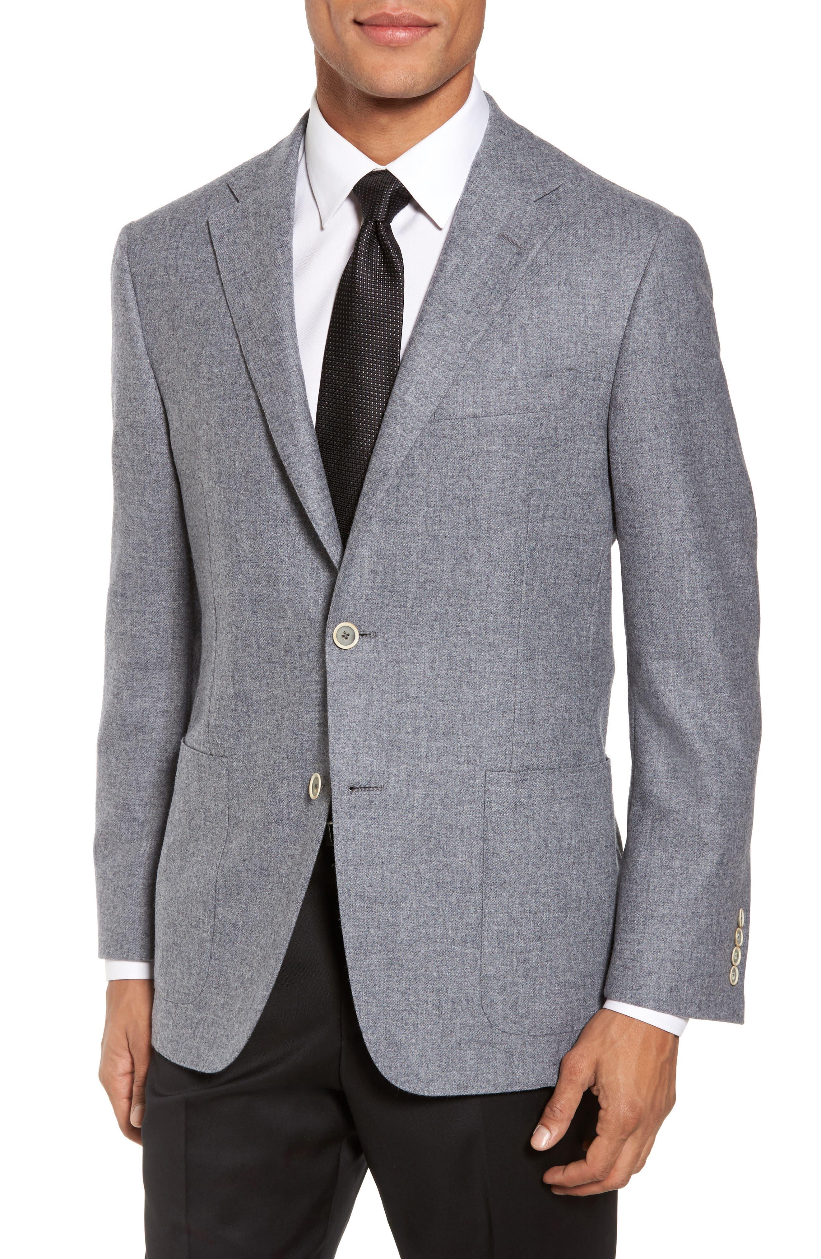 Main Image - Hickey Freeman Classic B Fit Wool & Cashmere Blazer