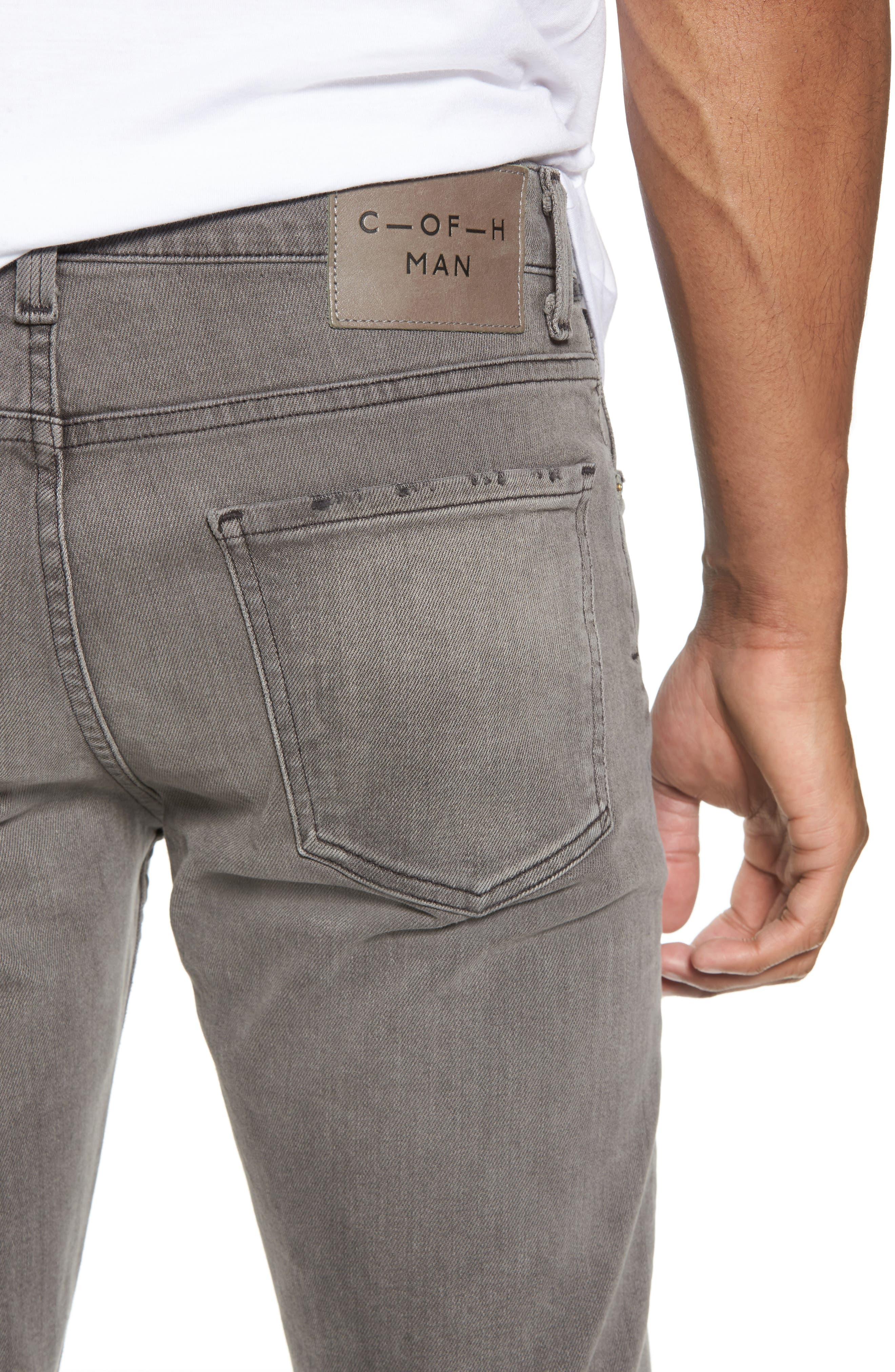 Bowery Slim Fit Jeans,                             Alternate thumbnail 4, color,                             Leon