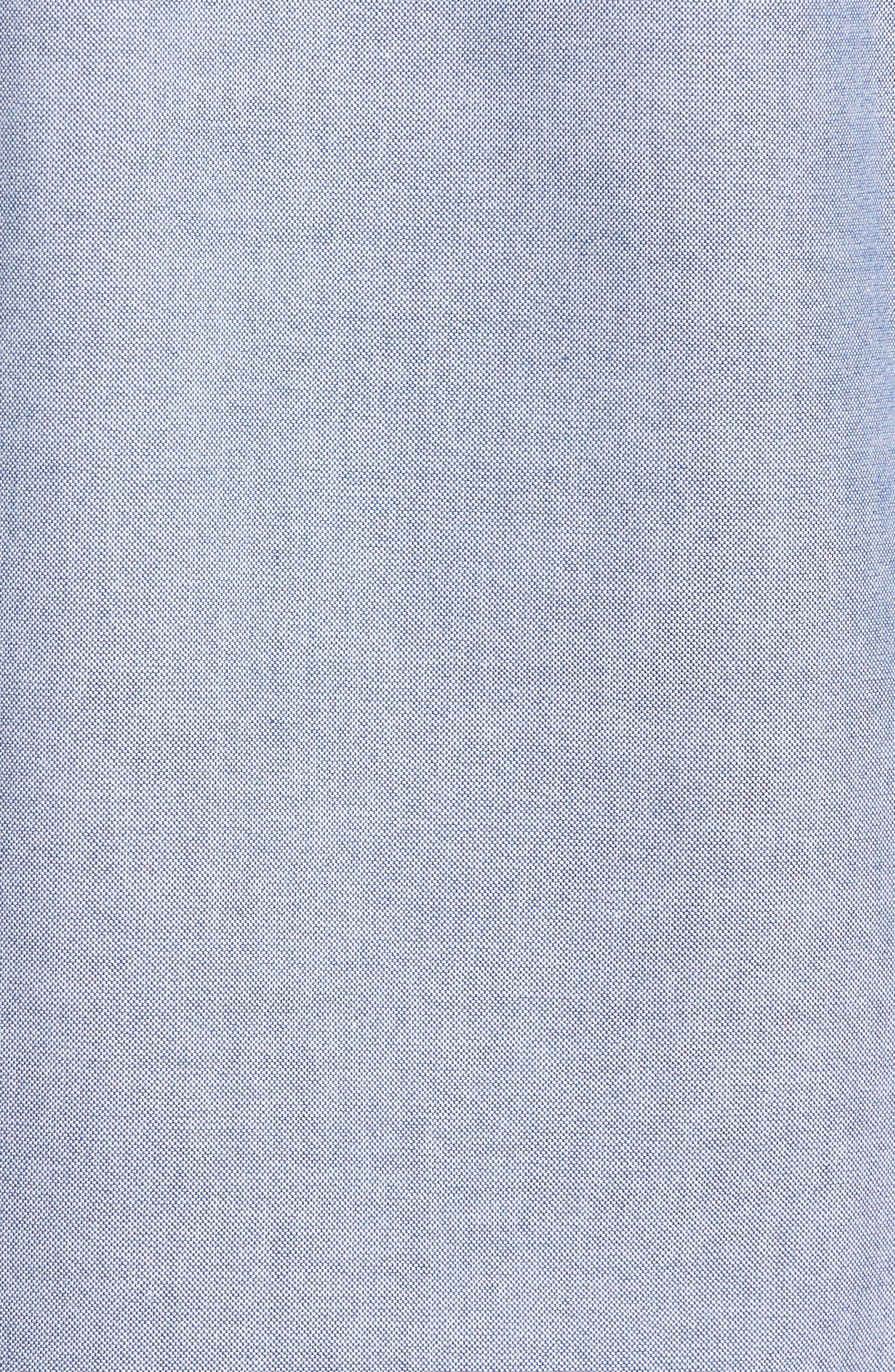 Alternate Image 5  - BOSS Rod Trim Fit Solid Sport Shirt