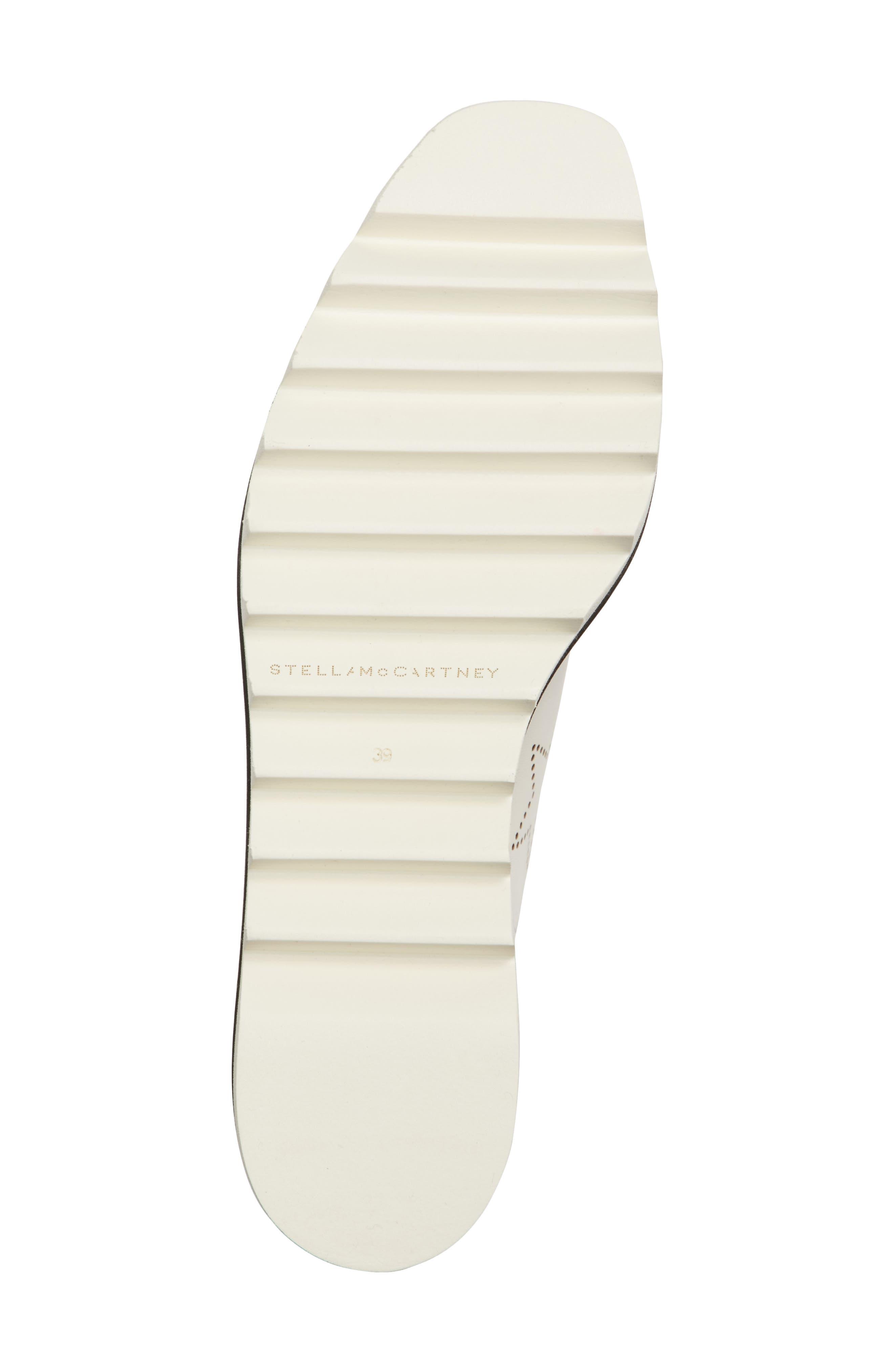 Elyse Platform Sneaker,                             Alternate thumbnail 6, color,                             White