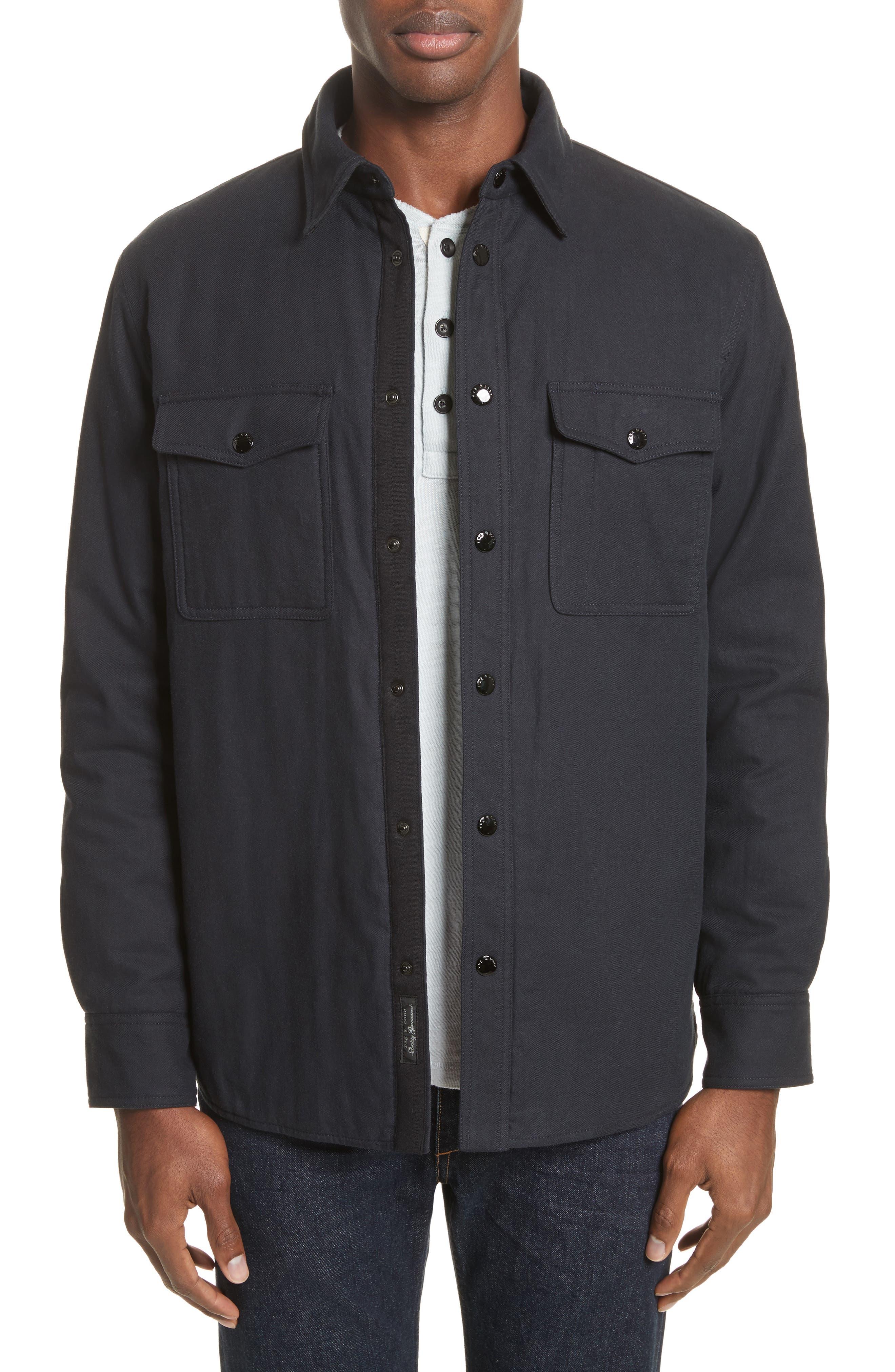 Main Image - rag & bone Jack Quilt Lined Shirt Jacket