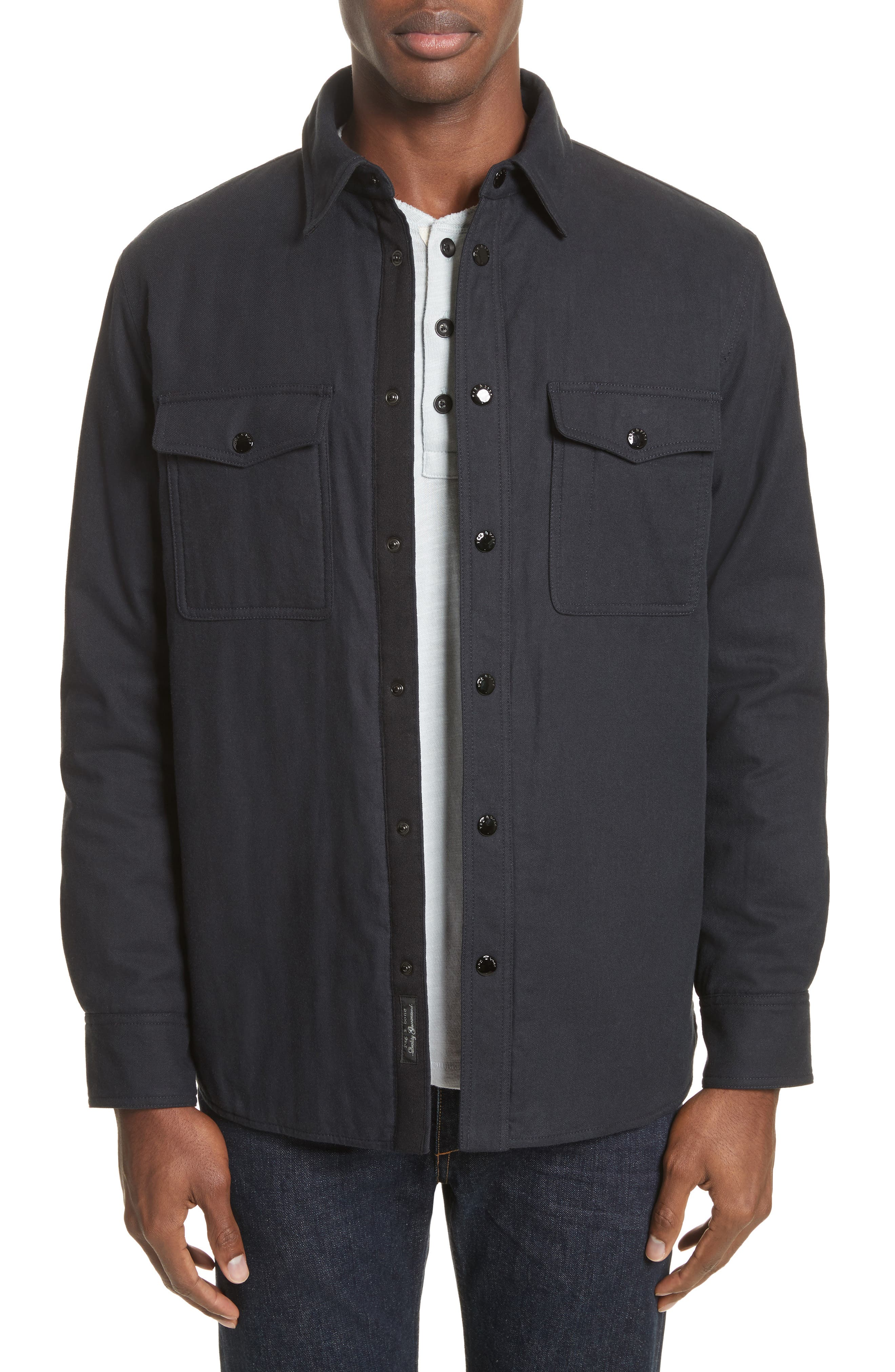 Jack Quilt Lined Shirt Jacket,                         Main,                         color, Salute