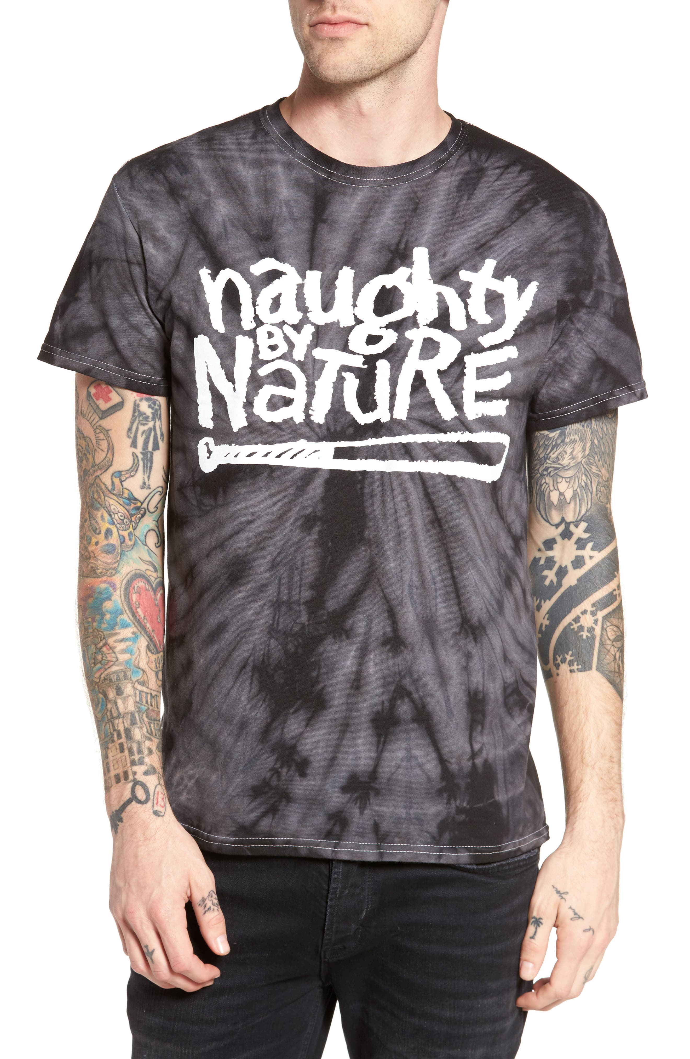 The Rail Naughty by Nature T-Shirt