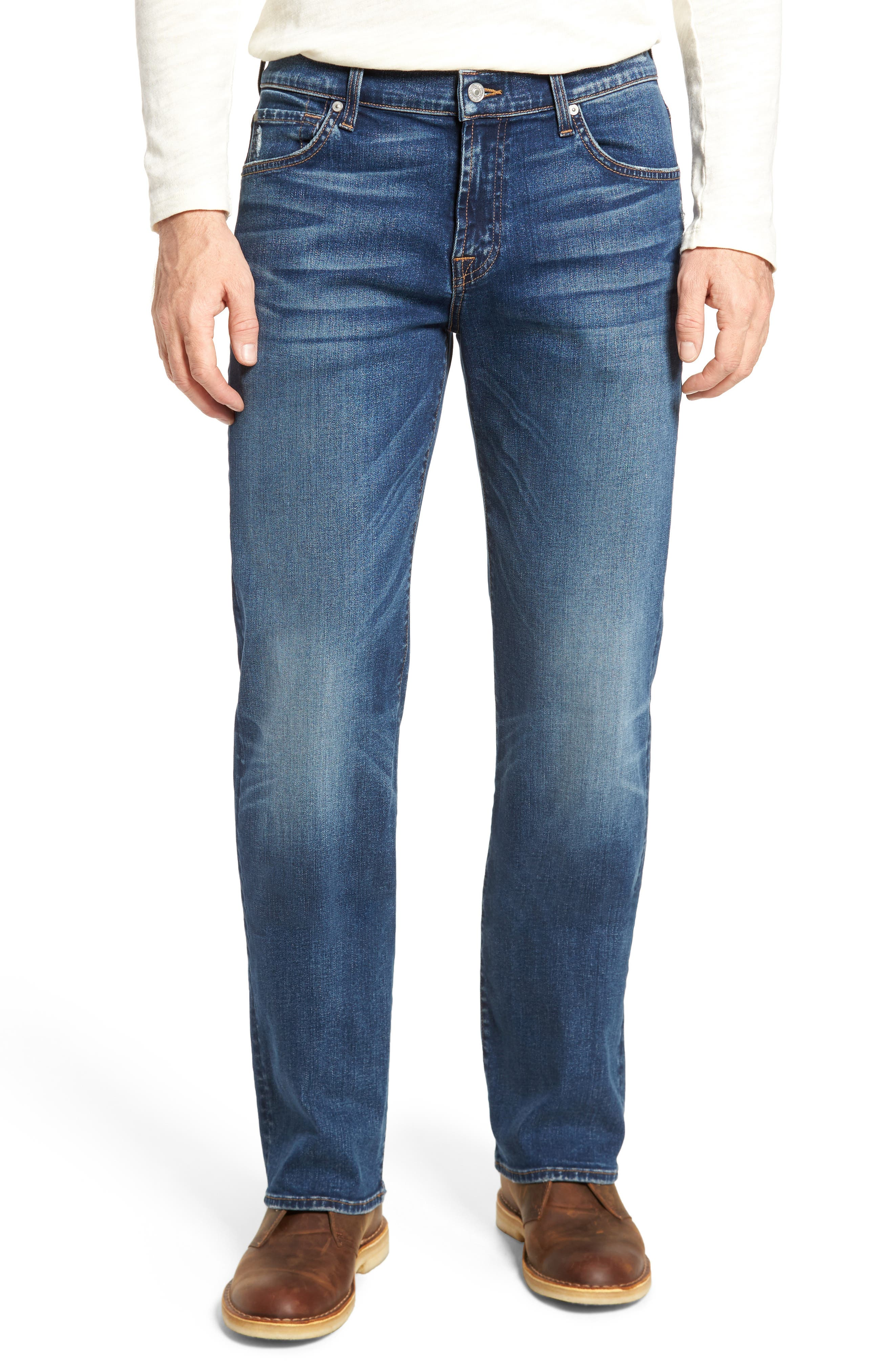 Main Image - 7 For All Mankind® Luxe Performance - Austyn Relaxed Fit Jeans (Union)