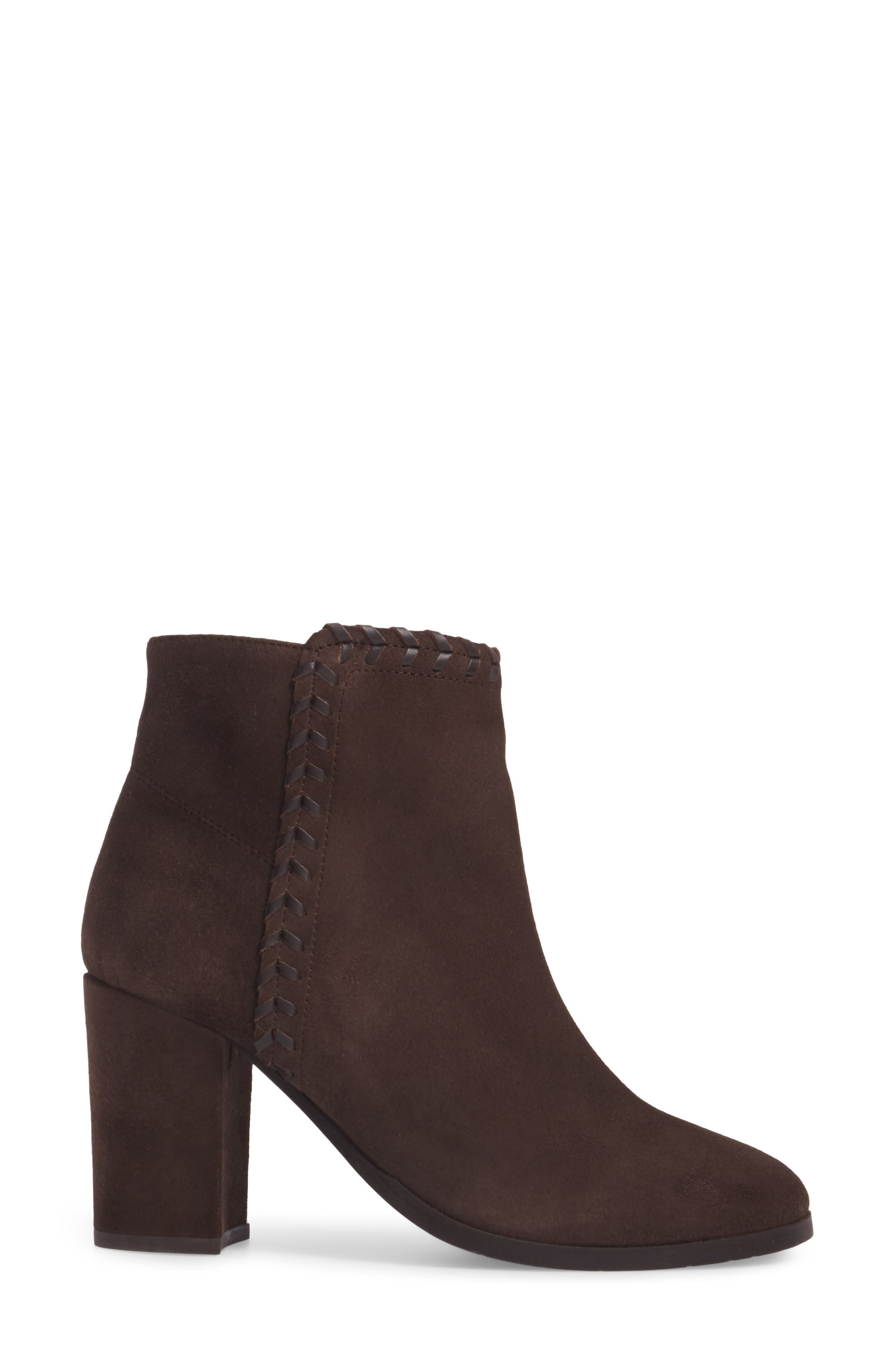 Heavenly Bootie,                             Alternate thumbnail 3, color,                             Taupe Suede