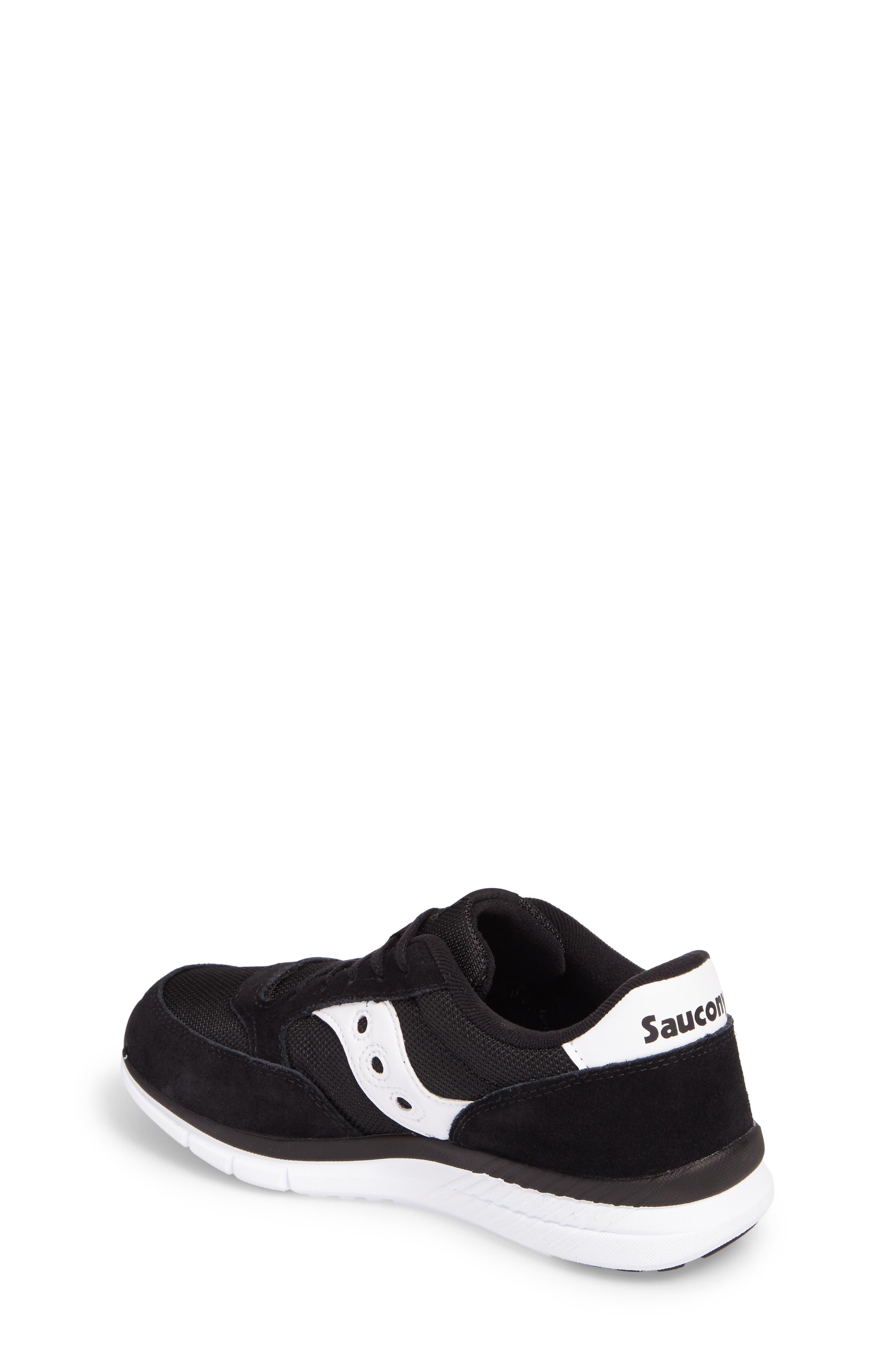 Jazz Lite Athletic Shoe,                             Alternate thumbnail 2, color,                             Black/ Black