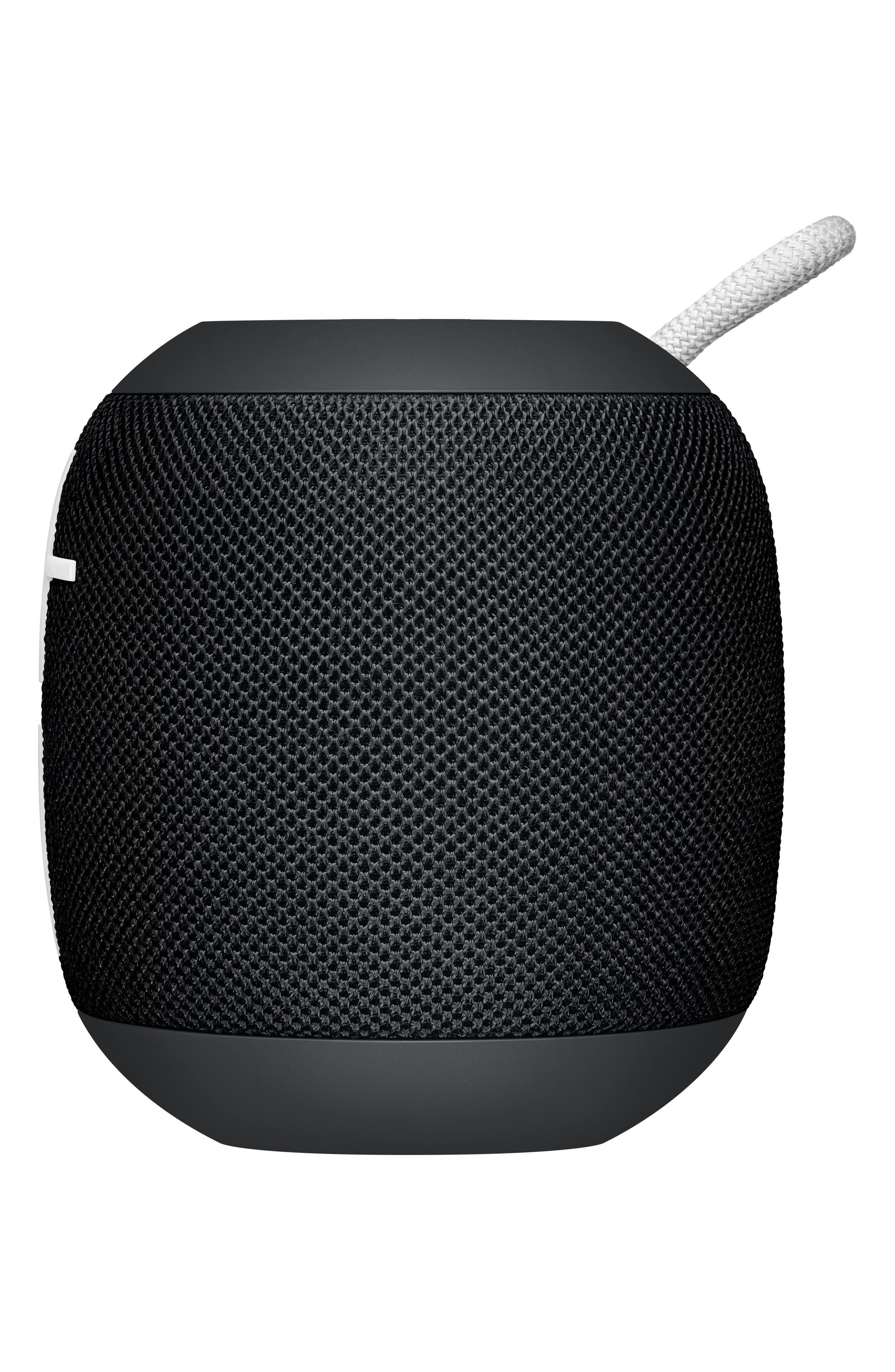 Ultimate Ears Wonderboom Portable Waterproof Bluetooth Speaker,                             Main thumbnail 1, color,                             Phantom Black