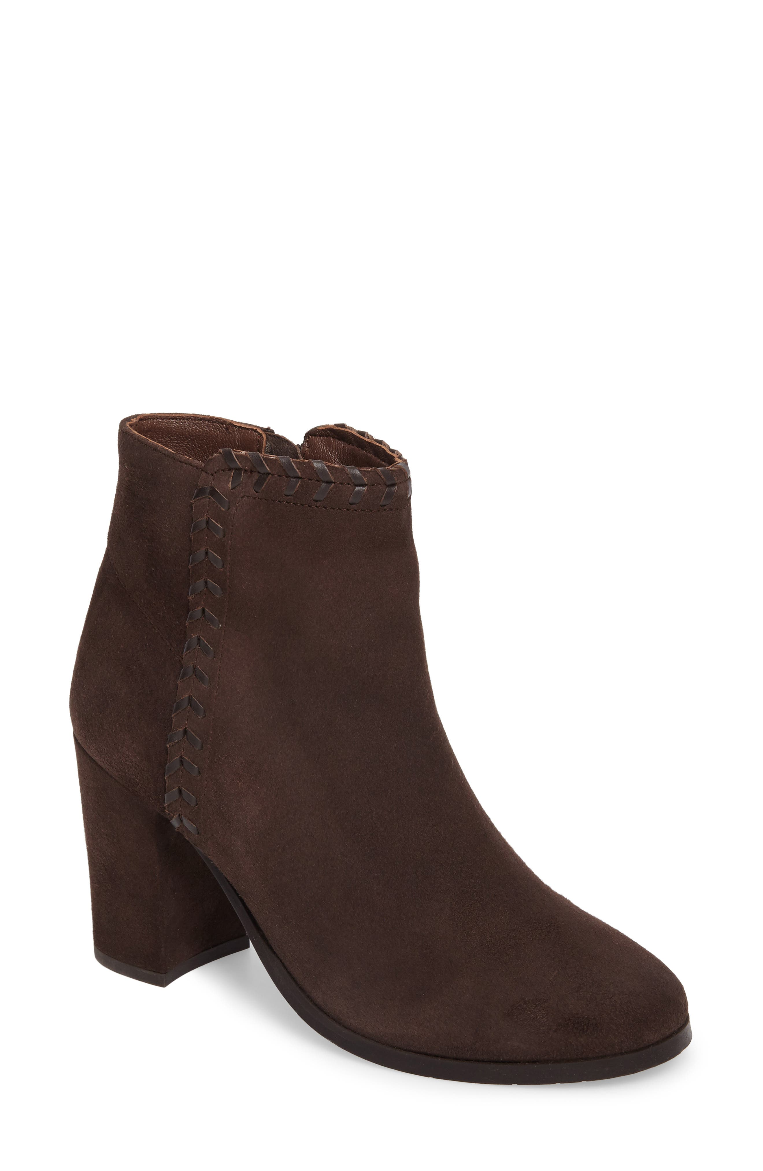 Heavenly Bootie,                         Main,                         color, Taupe Suede