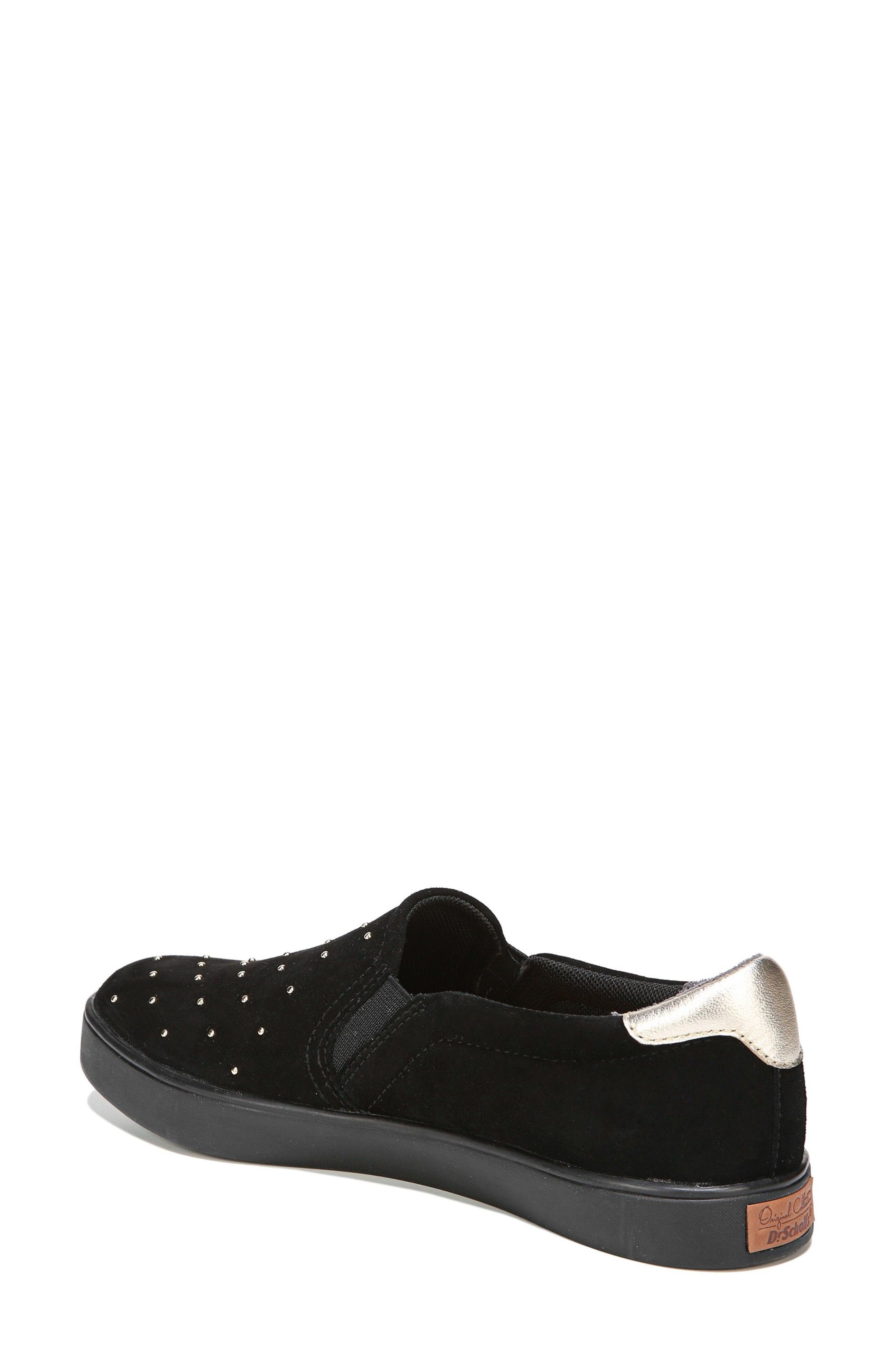 Original Collection 'Scout' Slip On Sneaker,                             Alternate thumbnail 2, color,                             Black Suede