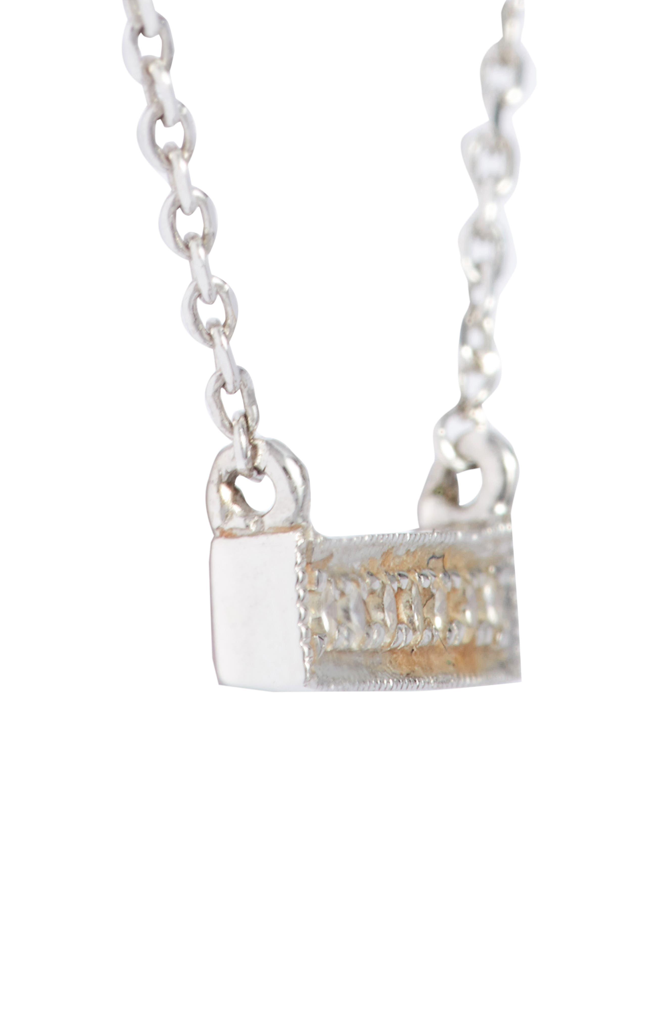 Alternate Image 3  - Dana Rebecca Designs 'Sylvie Rose' Diamond Bar Pendant Necklace