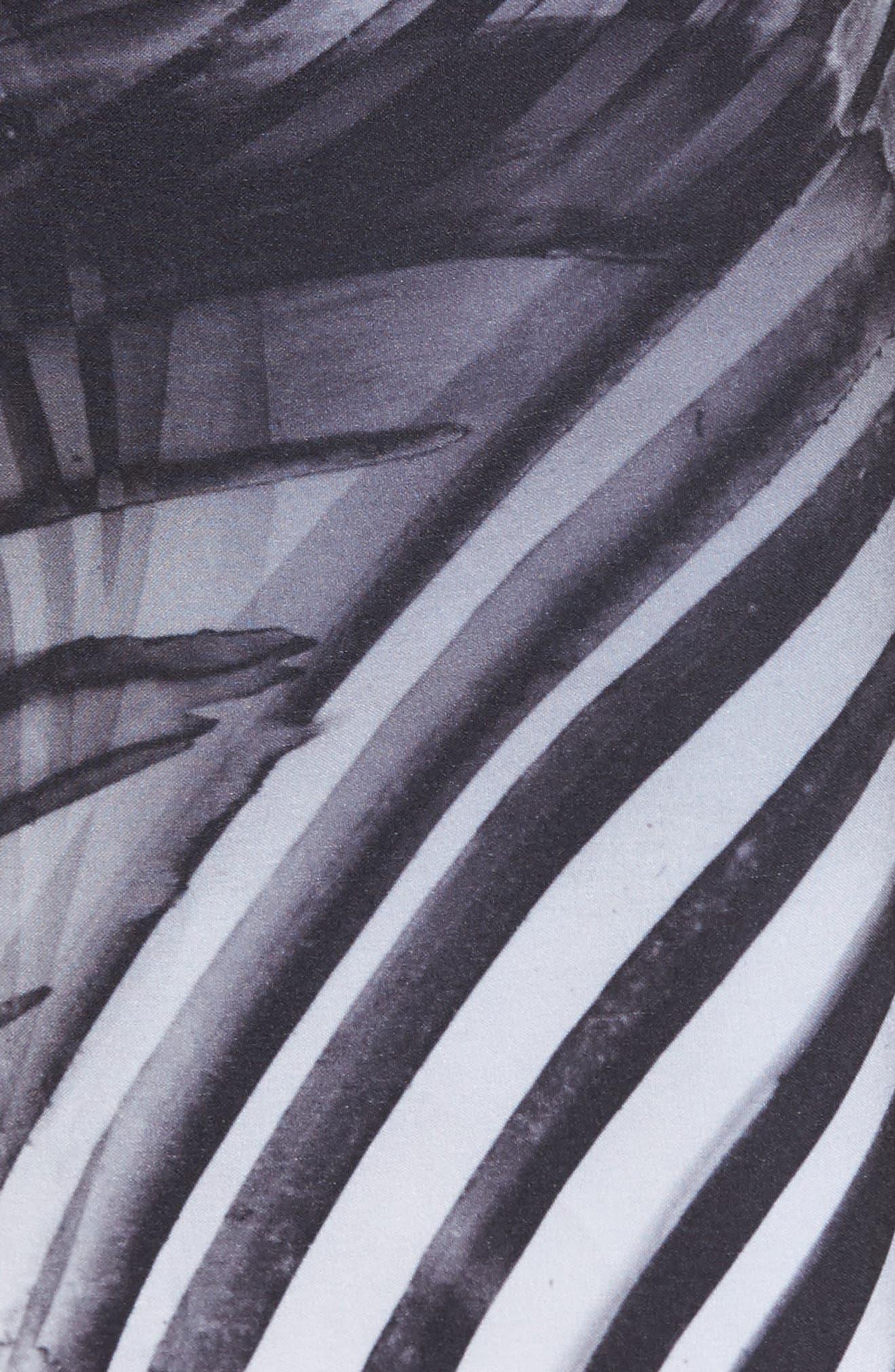 Phantom Crest Board Shorts,                             Alternate thumbnail 5, color,                             Black