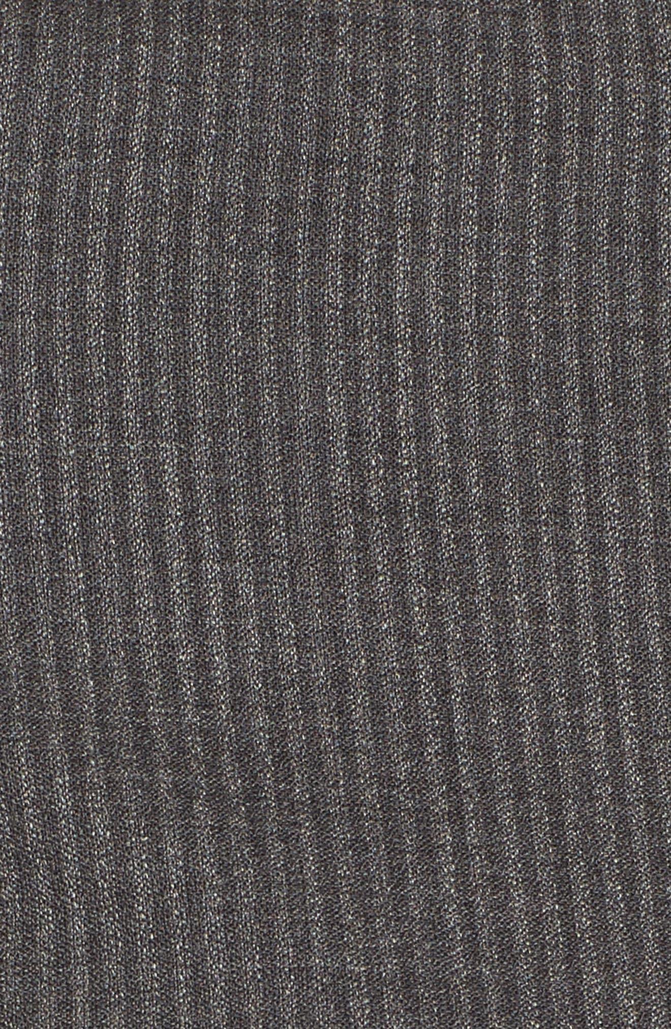 Jasyma Stripe Wool Suit Jacket,                             Alternate thumbnail 5, color,                             Dark Grey Fantasy