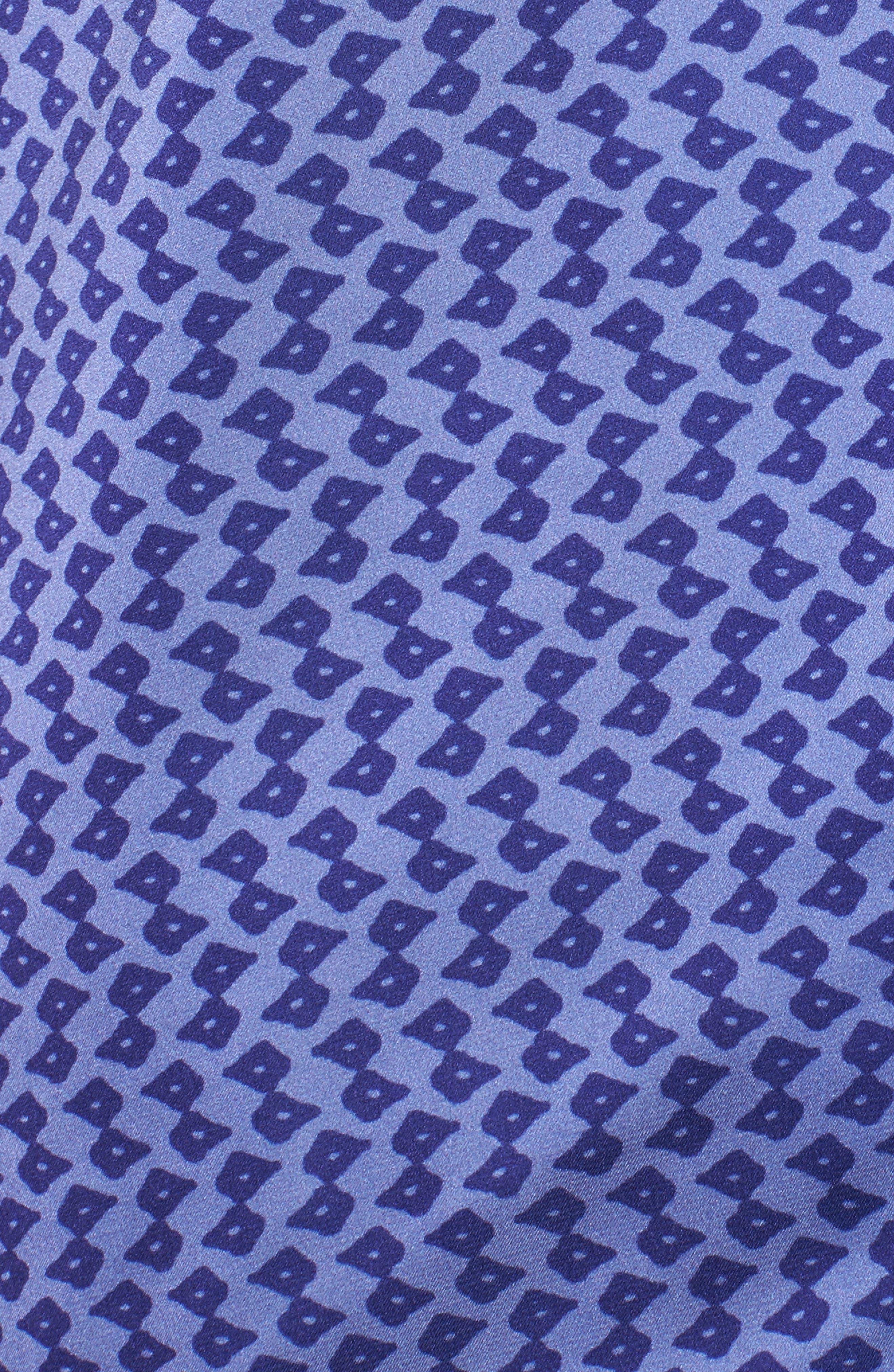 Satin Crop Pajamas,                             Alternate thumbnail 6, color,                             Dark Purple