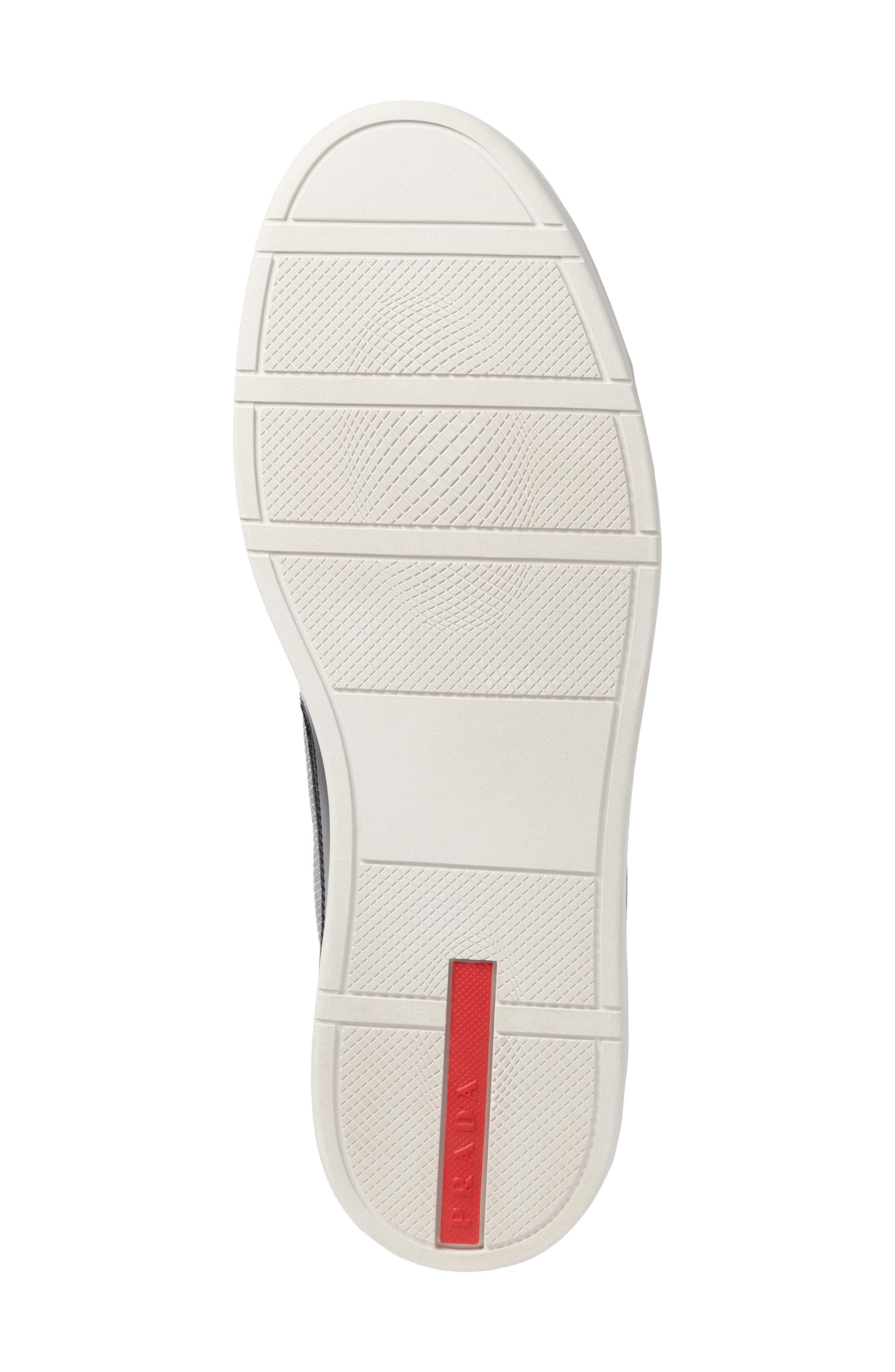 Linea Rossa New America's Cup Sneaker,                             Alternate thumbnail 6, color,                             Nero Argento