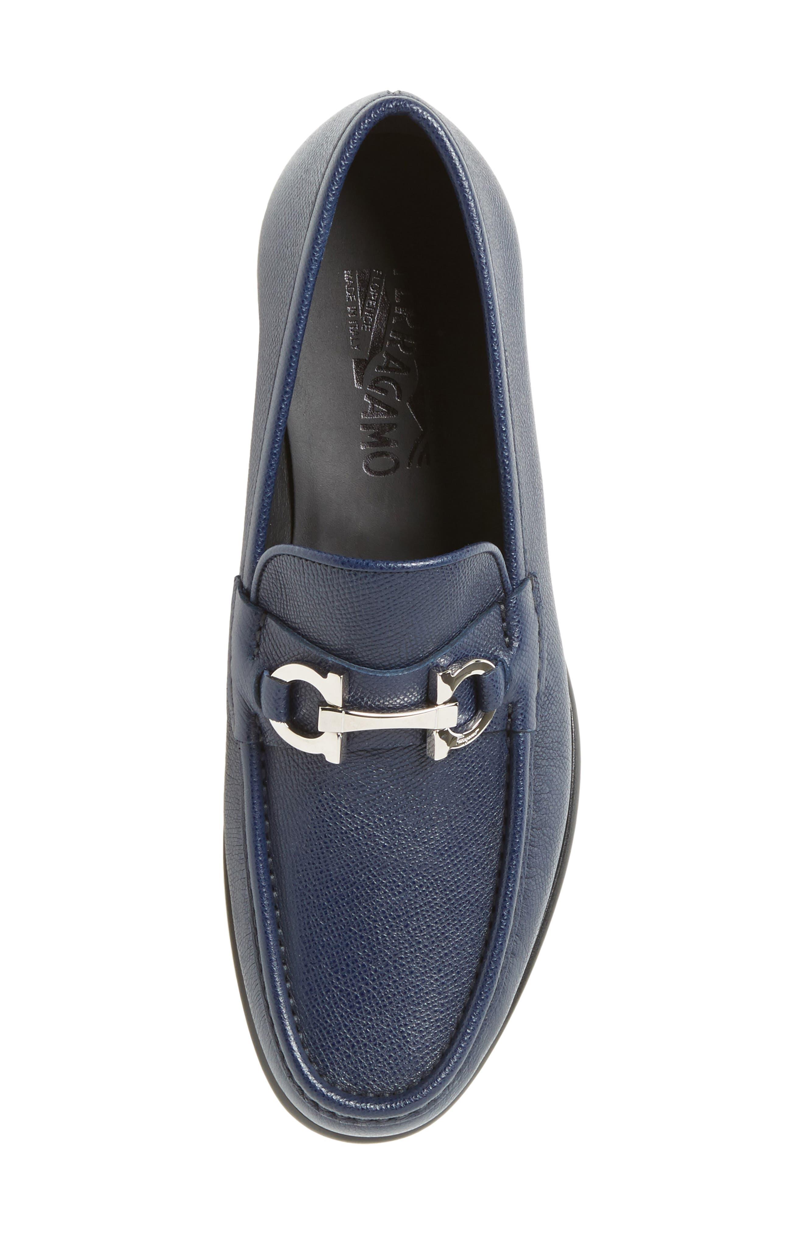 Alternate Image 5  - Salvatore Ferragamo Crown Bit Loafer (Men)