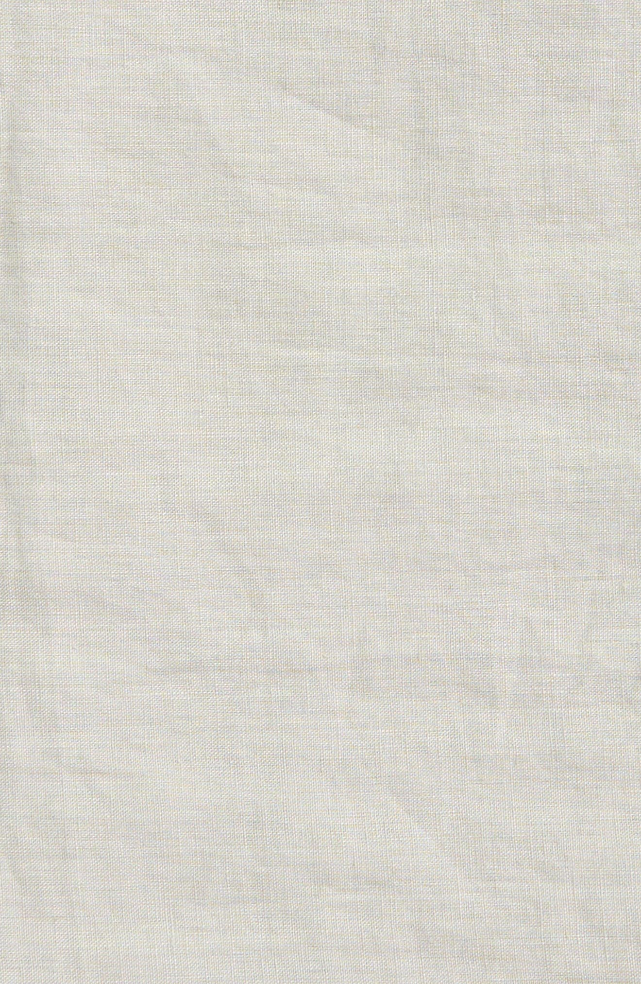 Alternate Image 3  - Levtex Washed Linen Tablecloth