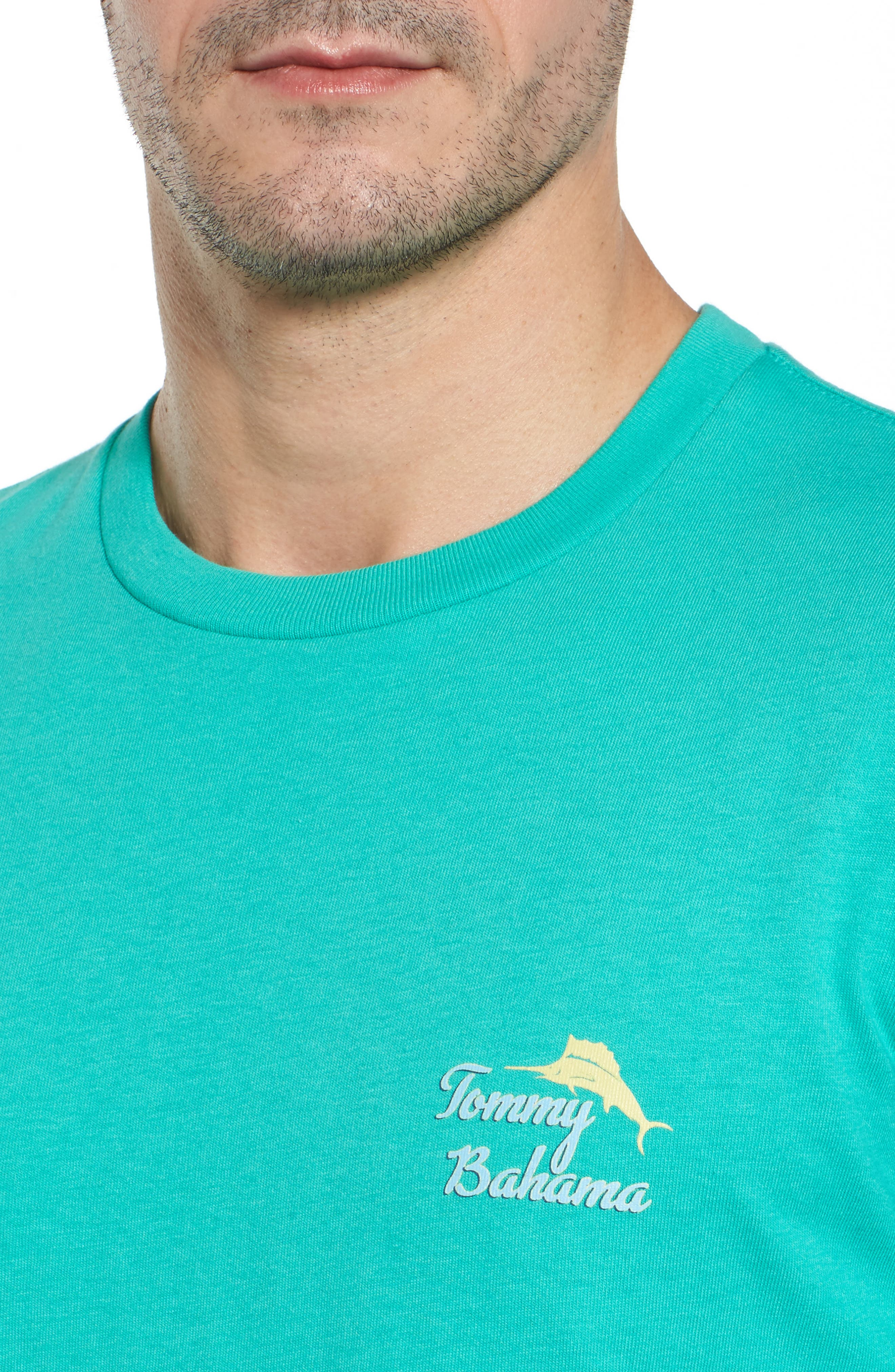 First Class Seat T-Shirt,                             Alternate thumbnail 4, color,                             Cave Green