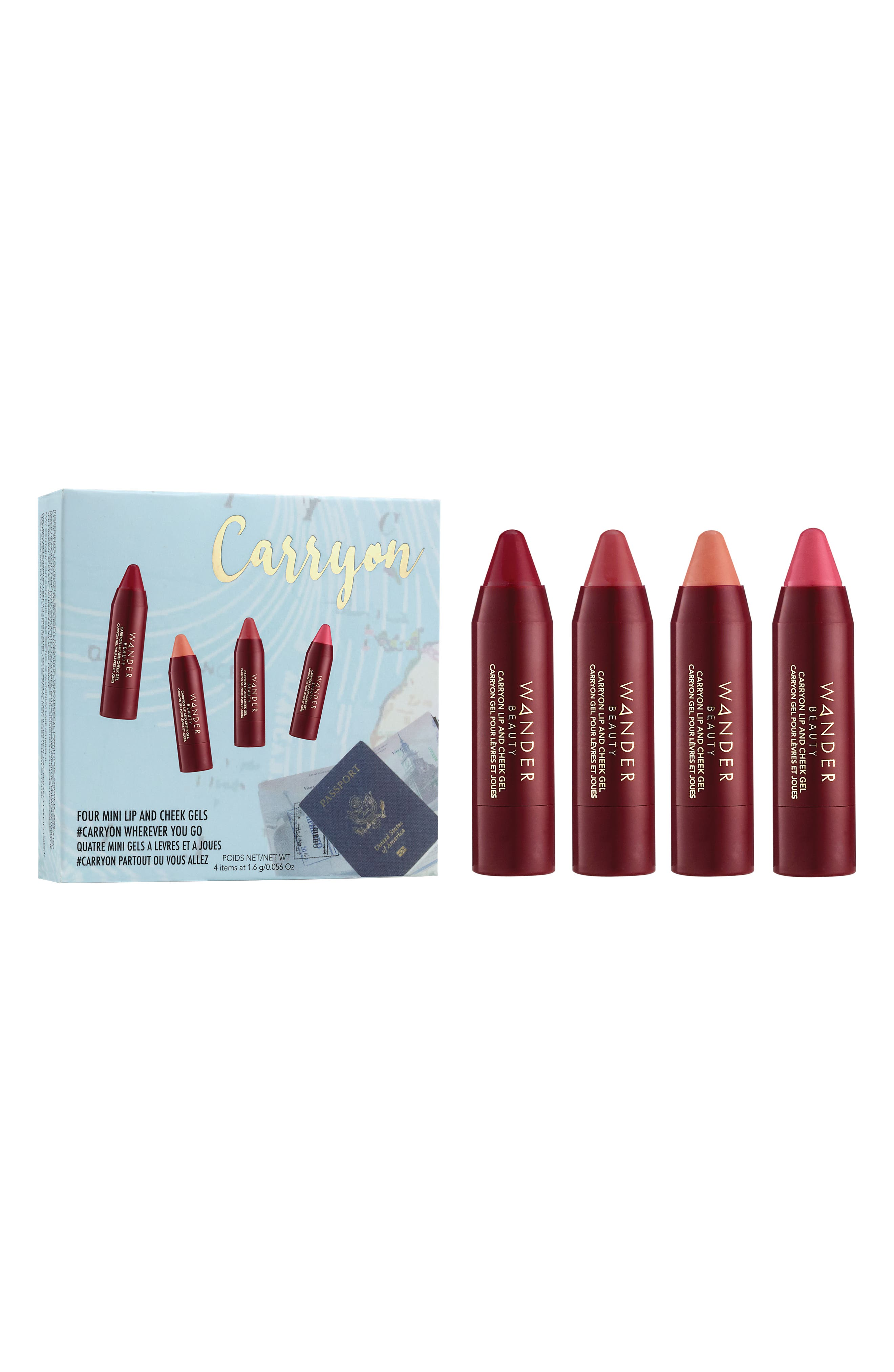 Wander Beauty Mini Carryon Lip and Cheek Gels Kit ($48 Value)