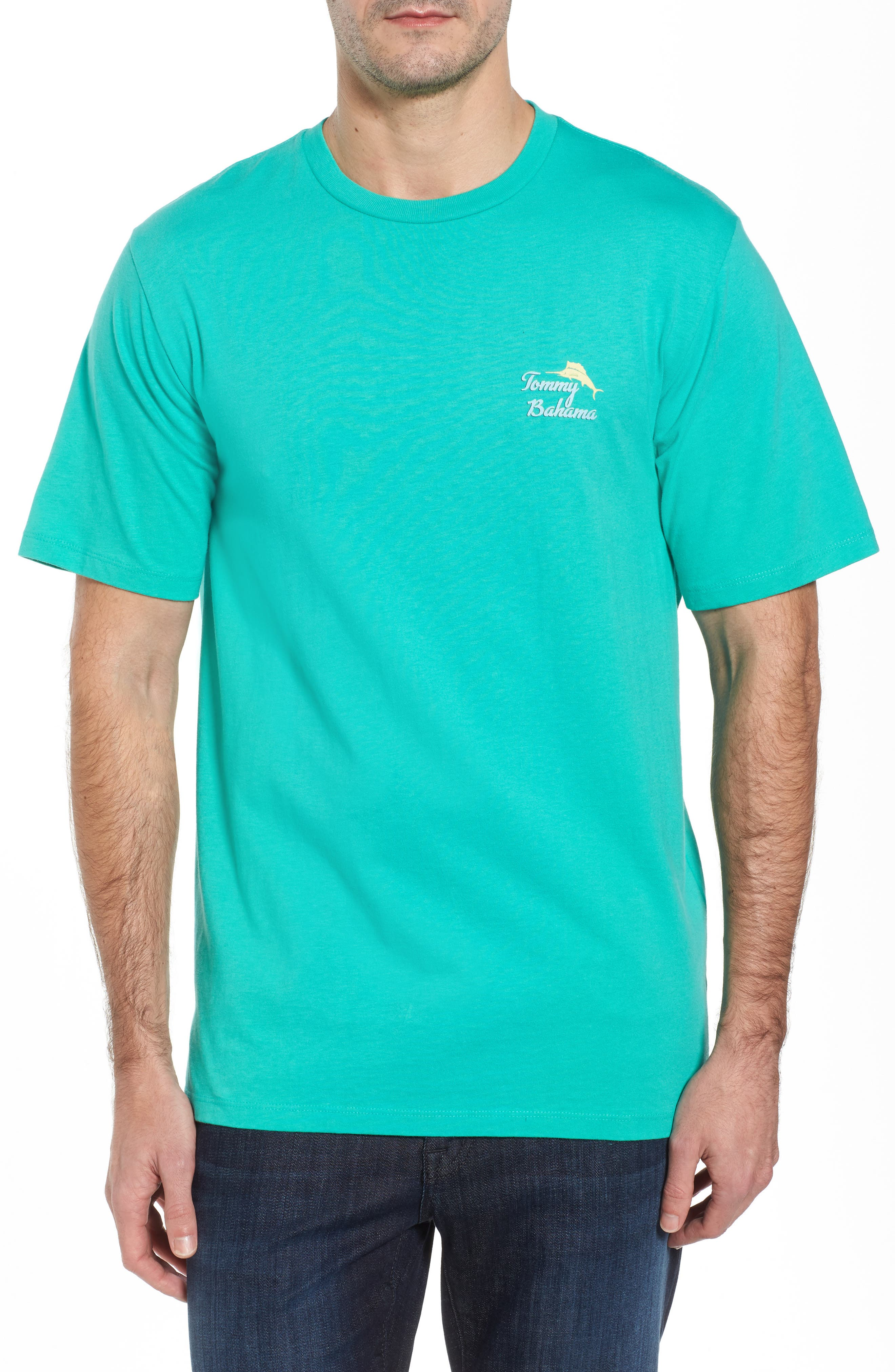 First Class Seat T-Shirt,                         Main,                         color, Cave Green