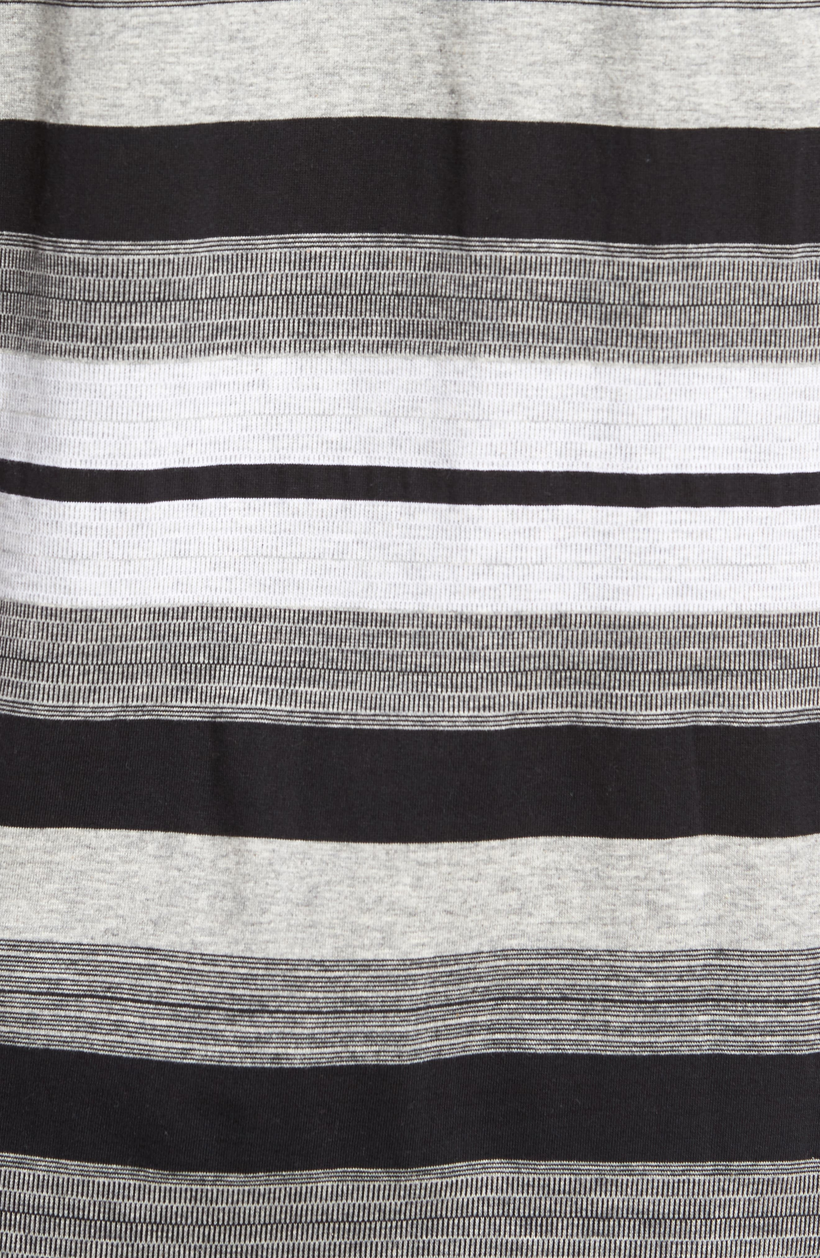 Alternate Image 5  - Majestic International Stripe V-Neck T-Shirt