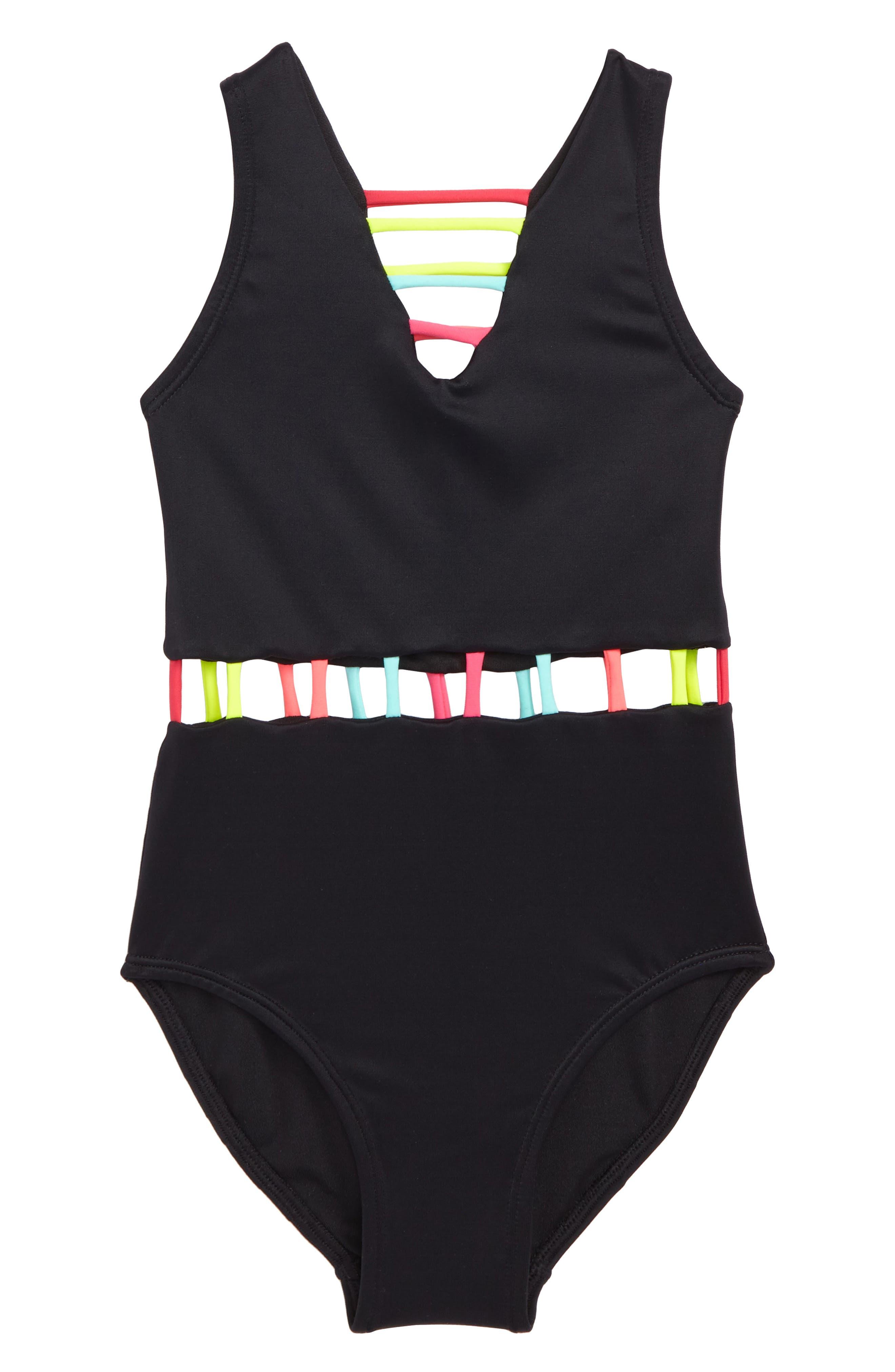 Little Peixoto The Jade One-Piece Swimsuit (Toddler Girls & Little Girls)