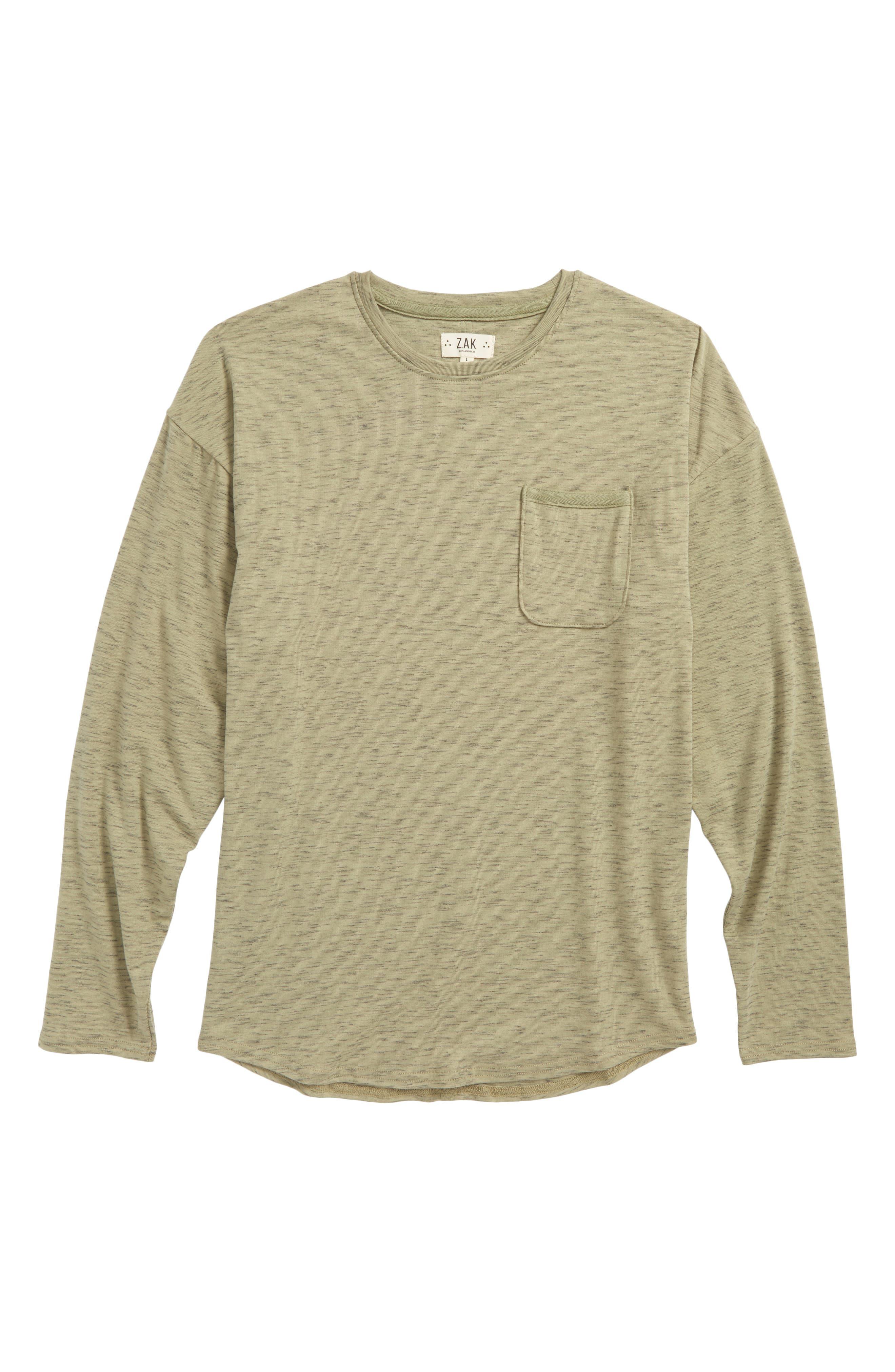 Main Image - Z.A.K. Brand The Mason Pocket T-Shirt (Big Boys)