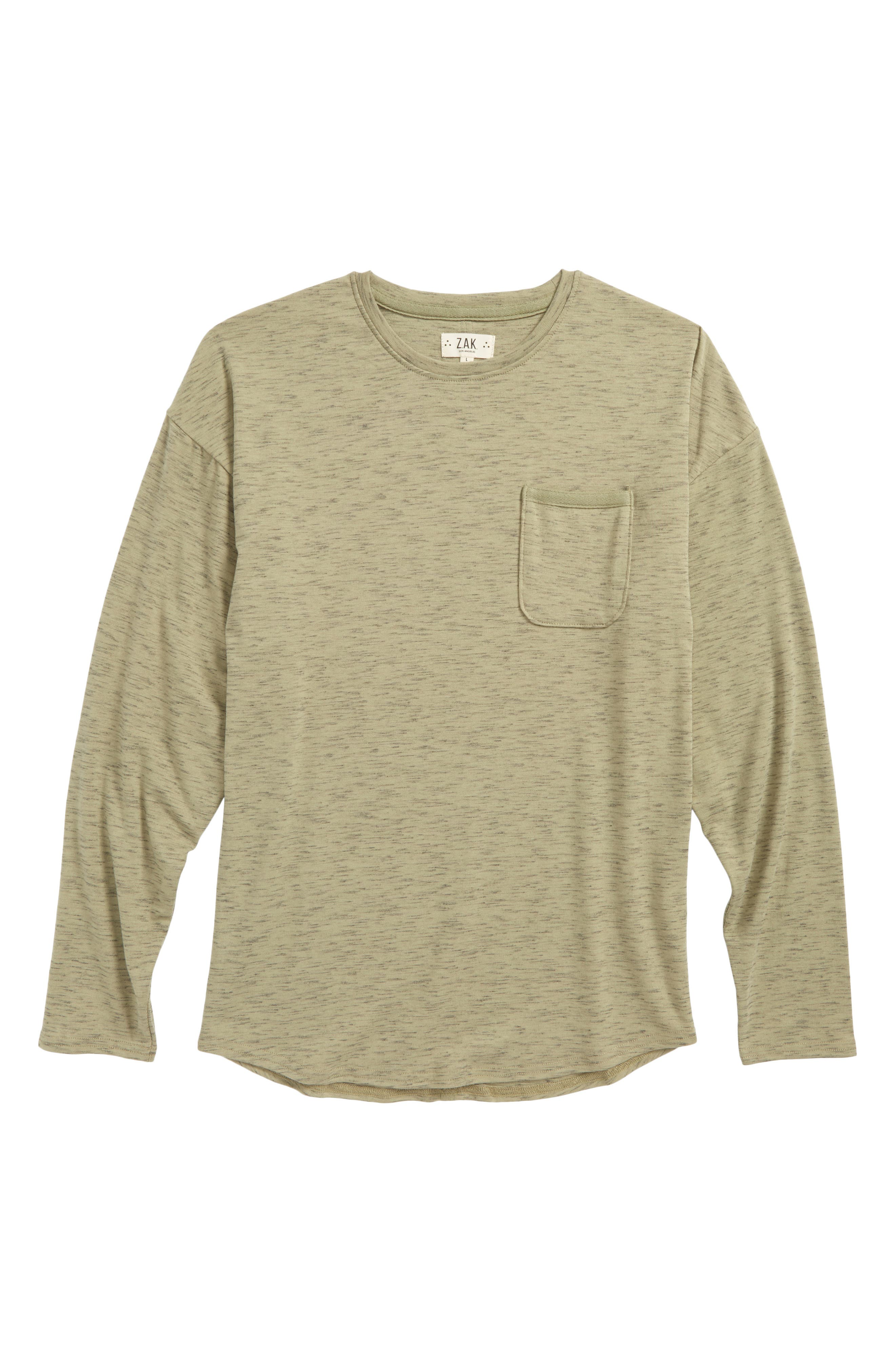 The Mason Pocket T-Shirt,                         Main,                         color, Olive