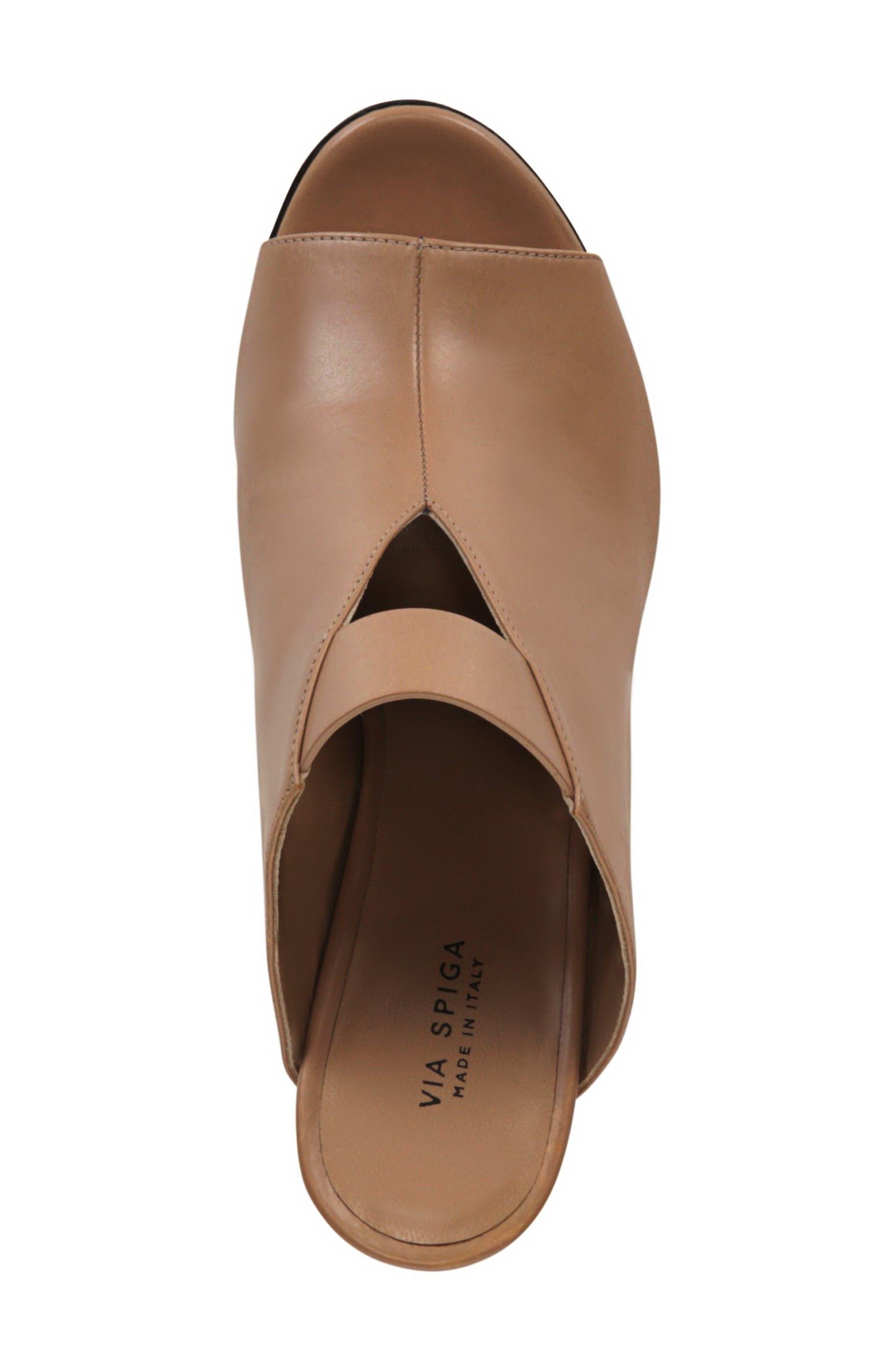 Mira Sandal,                             Alternate thumbnail 5, color,                             Desert Leather