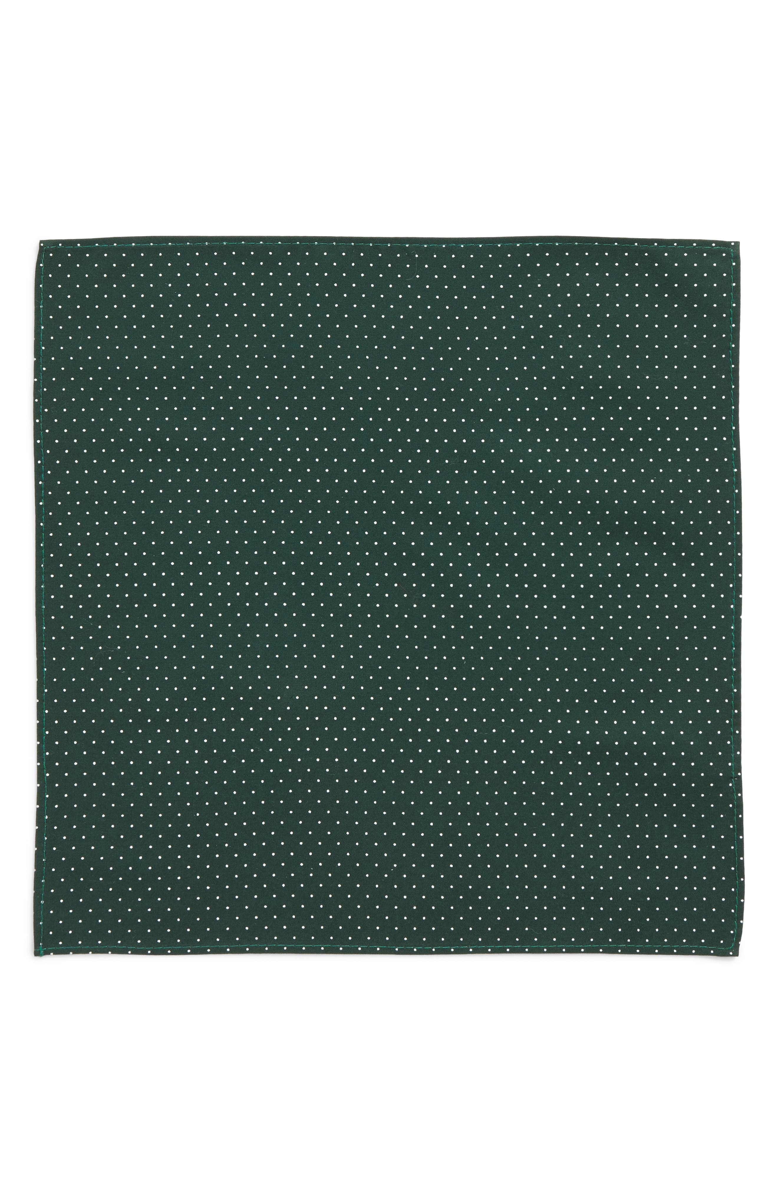 Alternate Image 3  - Nordstrom Micro Dot Pocket Square (Big Boys)