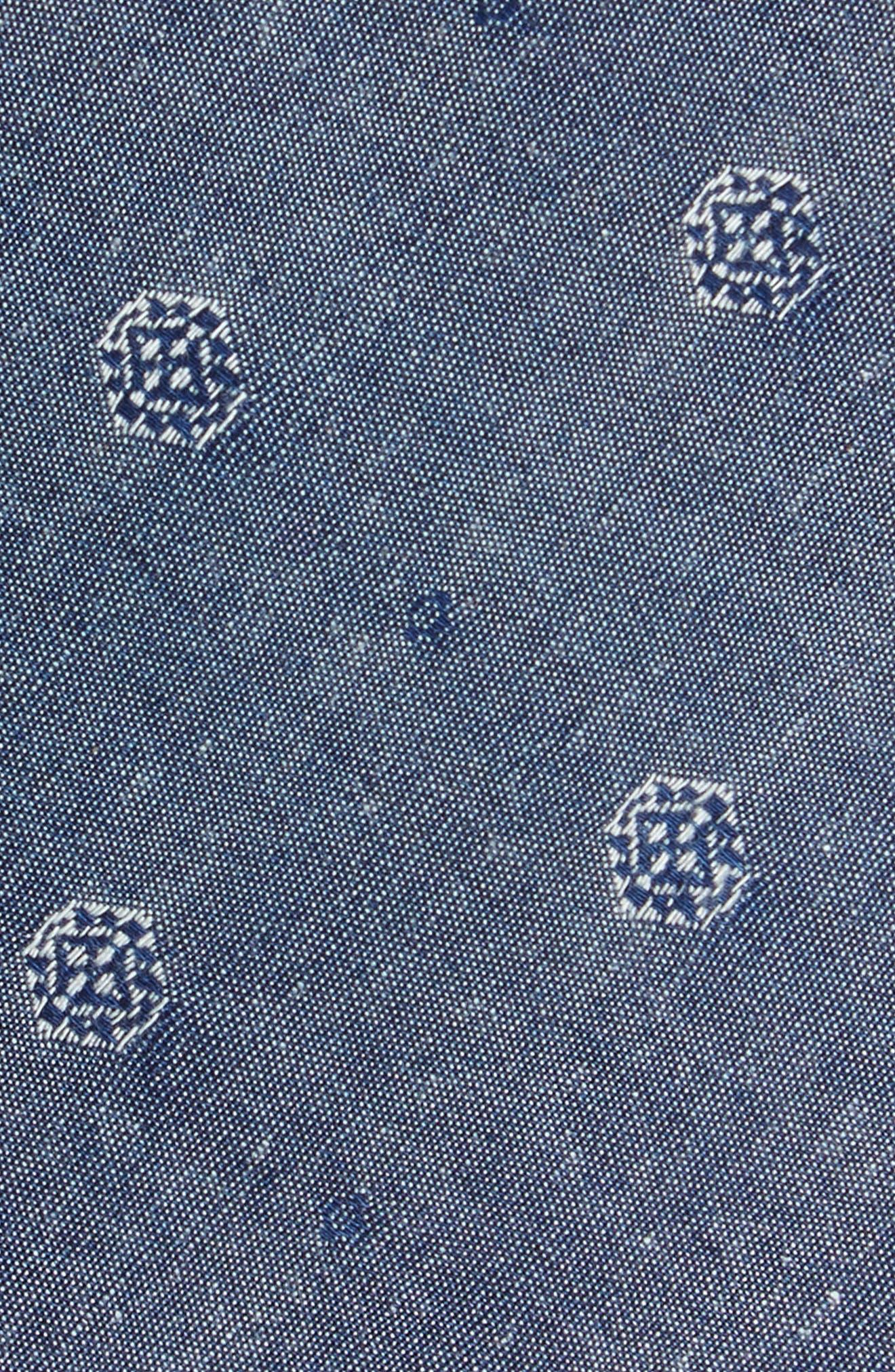Alternate Image 2  - Nordstrom Men's Shop Medallion Cotton Tie