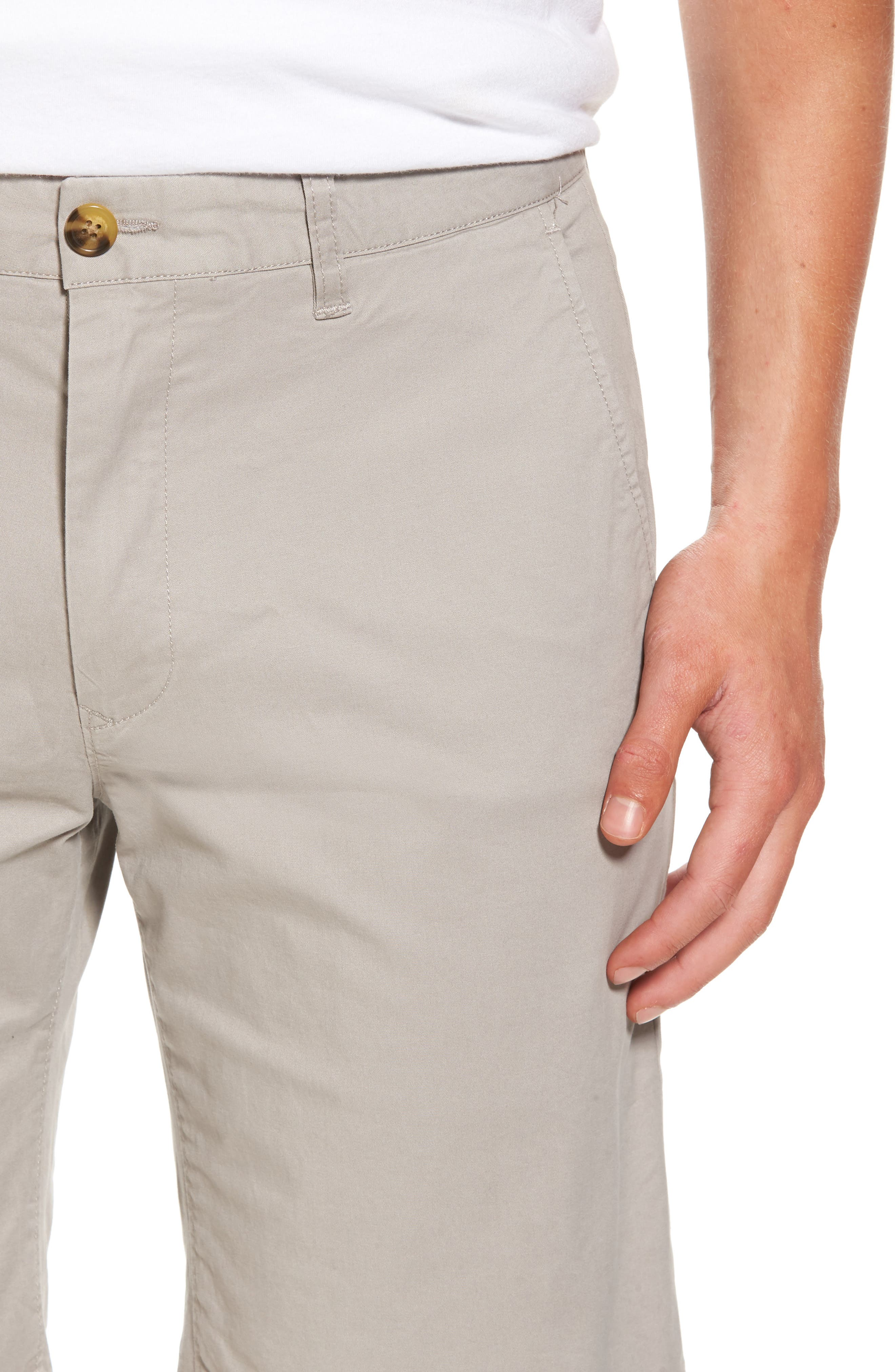 Alternate Image 4  - 7 Diamonds Slim Fit Brushed Twill Shorts